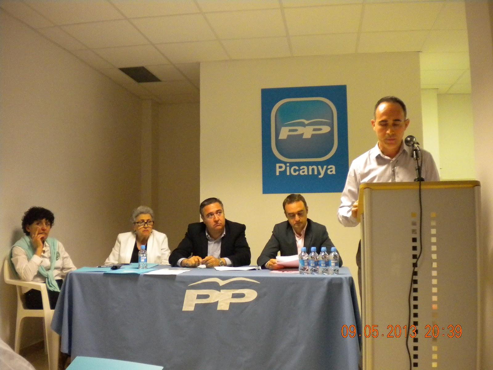 El PP de Picanya presenta este jueves su lista electoral