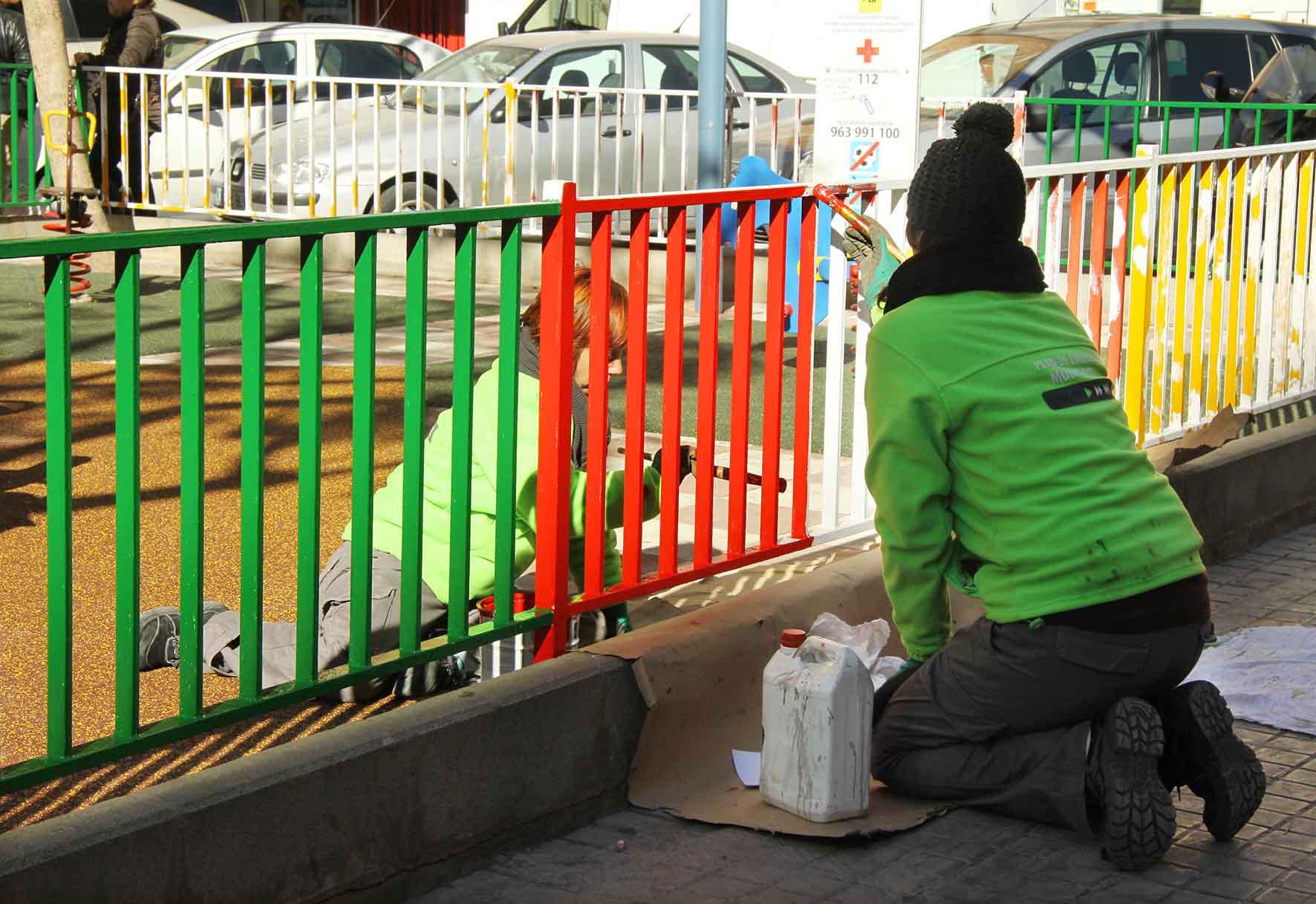 El Plan Social de Empleo de Mislata ayuda a las familias y mejora la ciudad