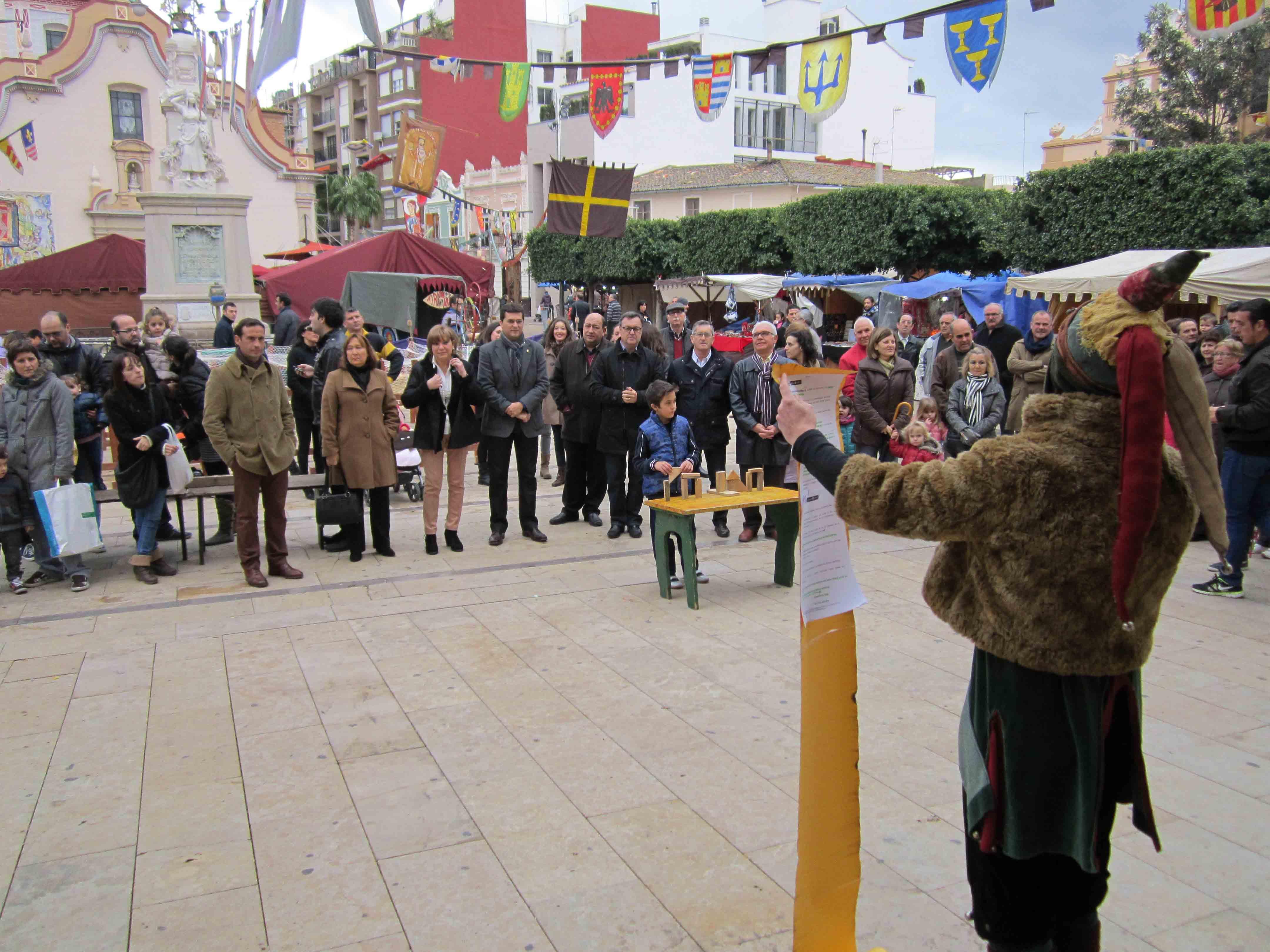 Alfafar celebra este fin de semana su tradicional Feria Medieval