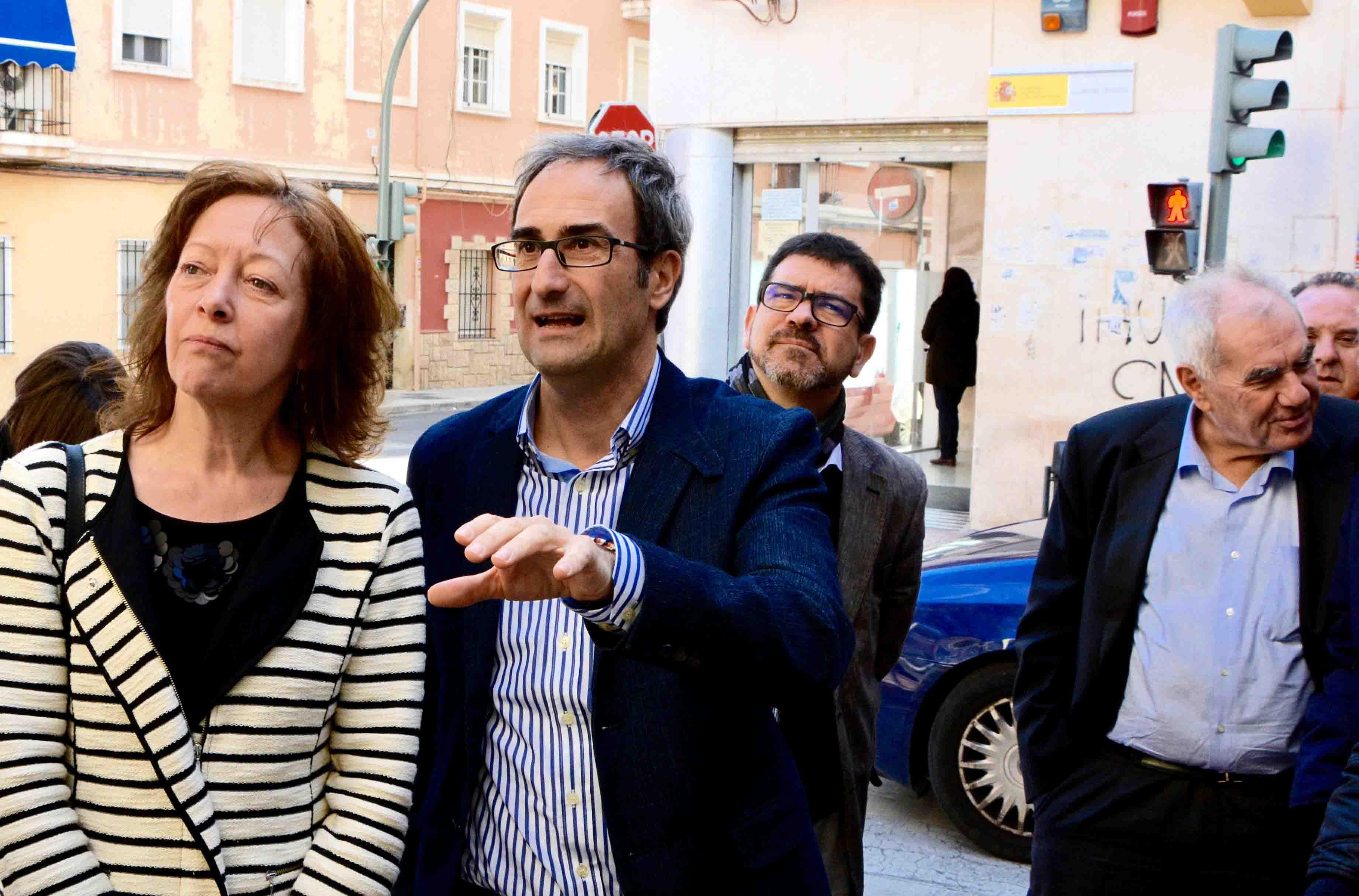 Eurodiputats visiten escoles públiques de Burjassot, Alaquàs i Valencia