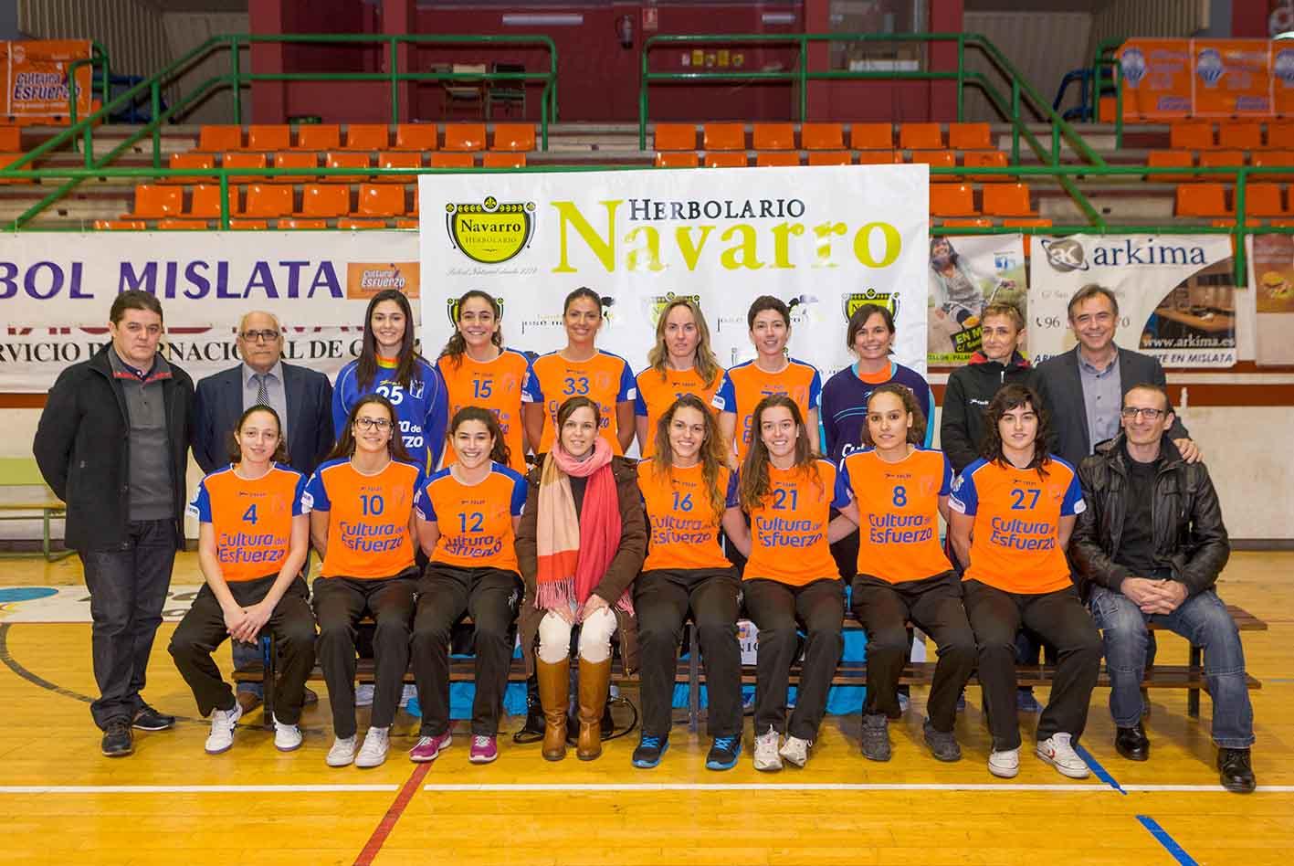 La Canaleta acoge la presentación de los siete equipos de Handbol Mislata