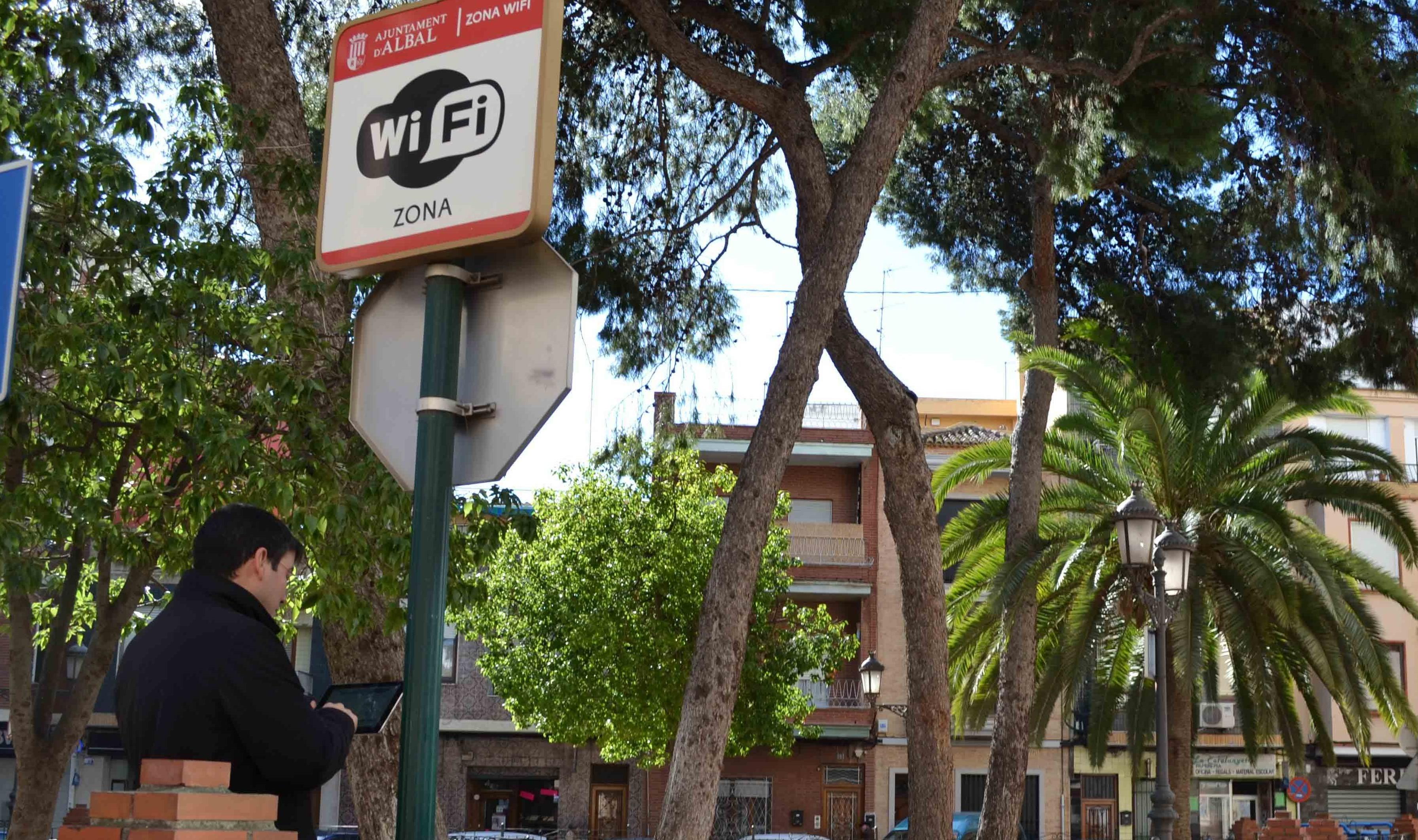 Albal cuenta con 10 puntos de acceso gratuito a Internet