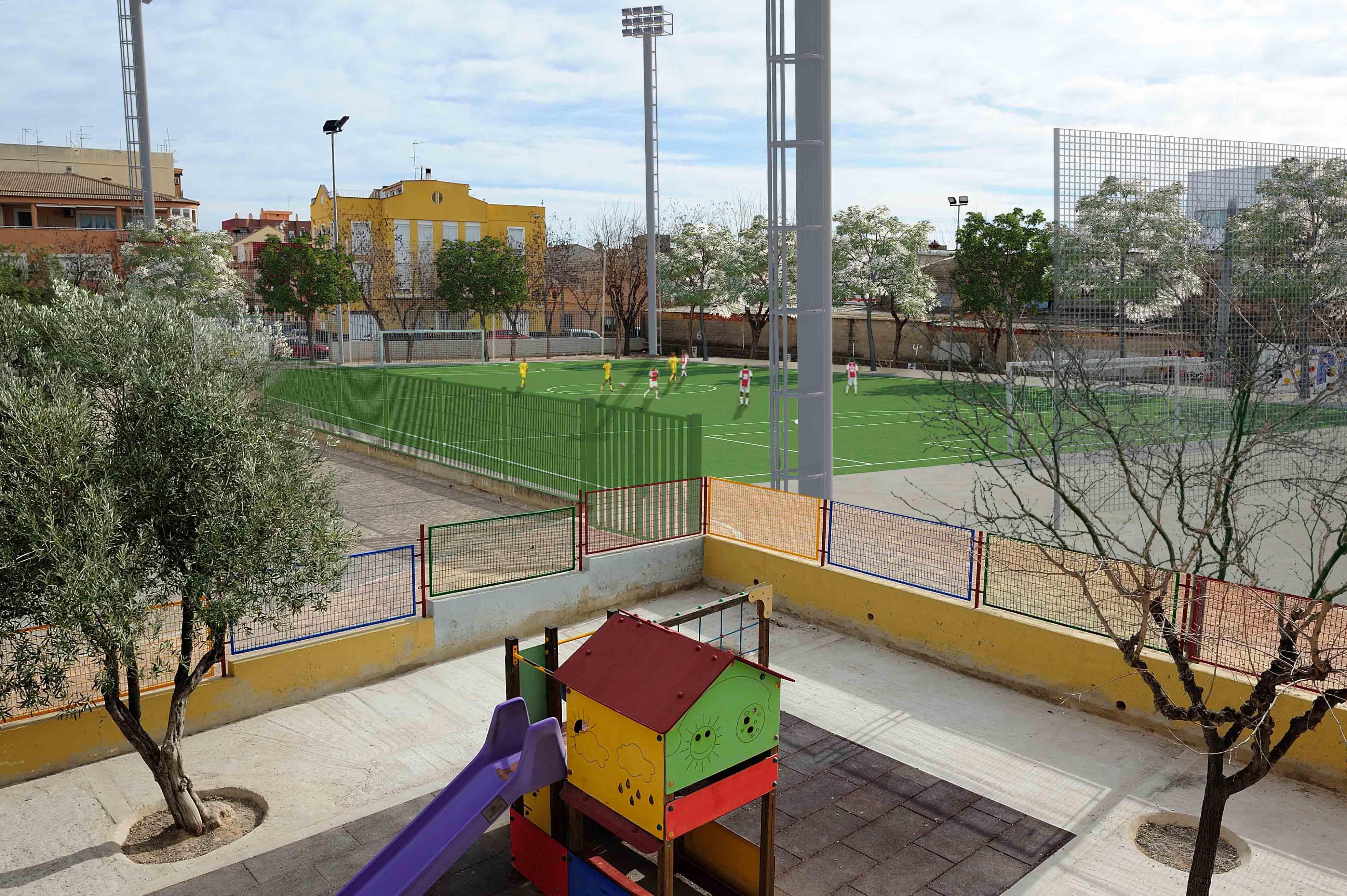 Aldaia destinará 500.000€ en mejoras del polideportivo y centros educativos