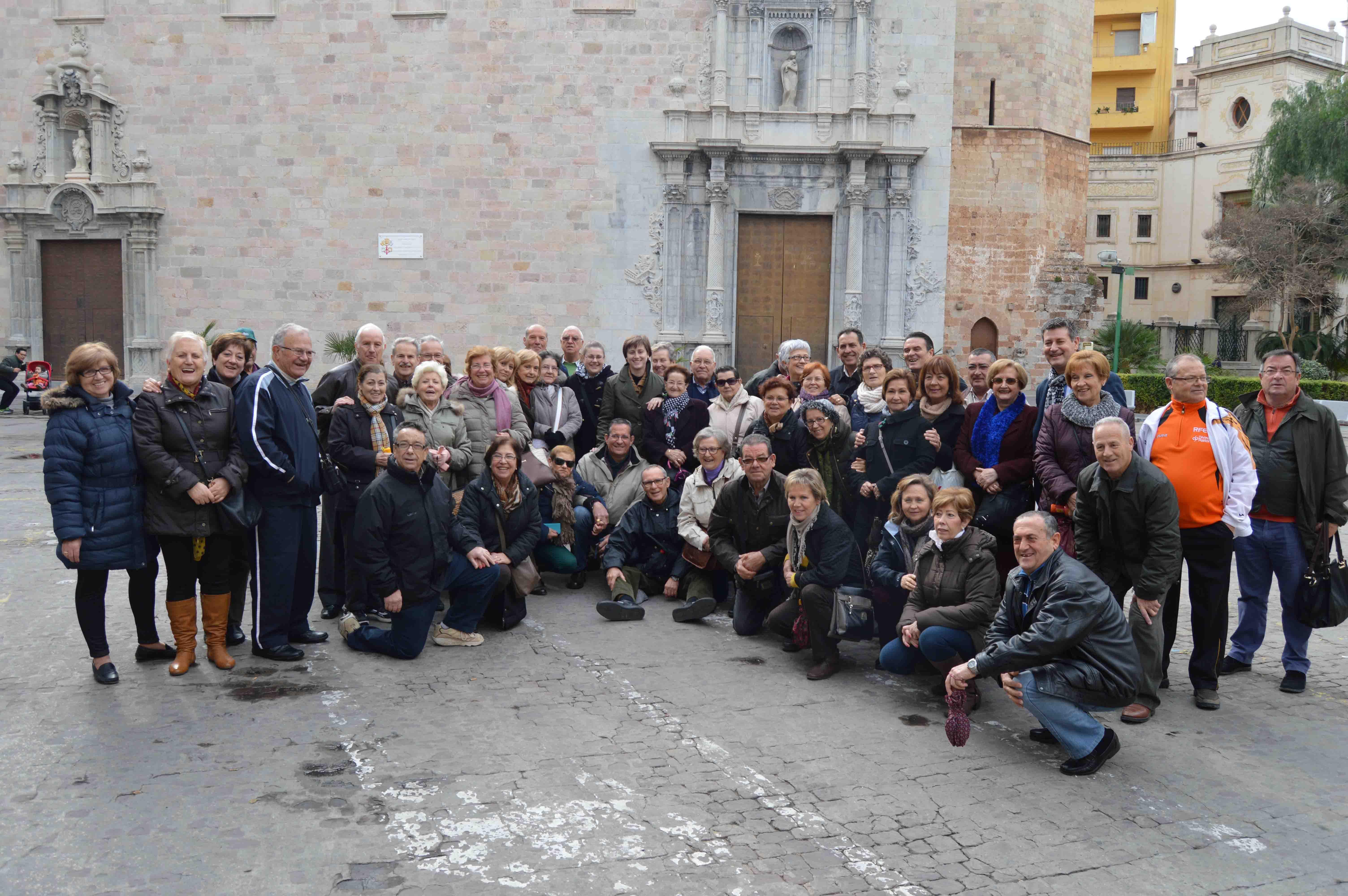 Los mayores de Benetússer visitan Burriana
