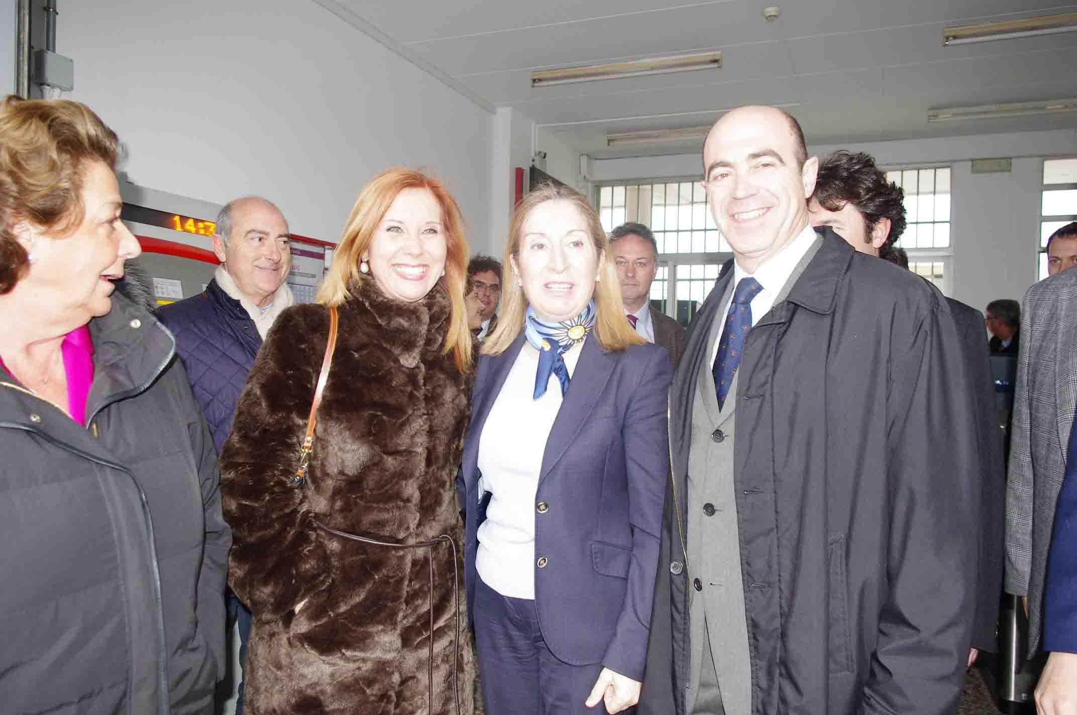 La ministra de Fomento anuncia que las obras de la línea C3 de Aldaia y Xirivella estarán listas en dos meses