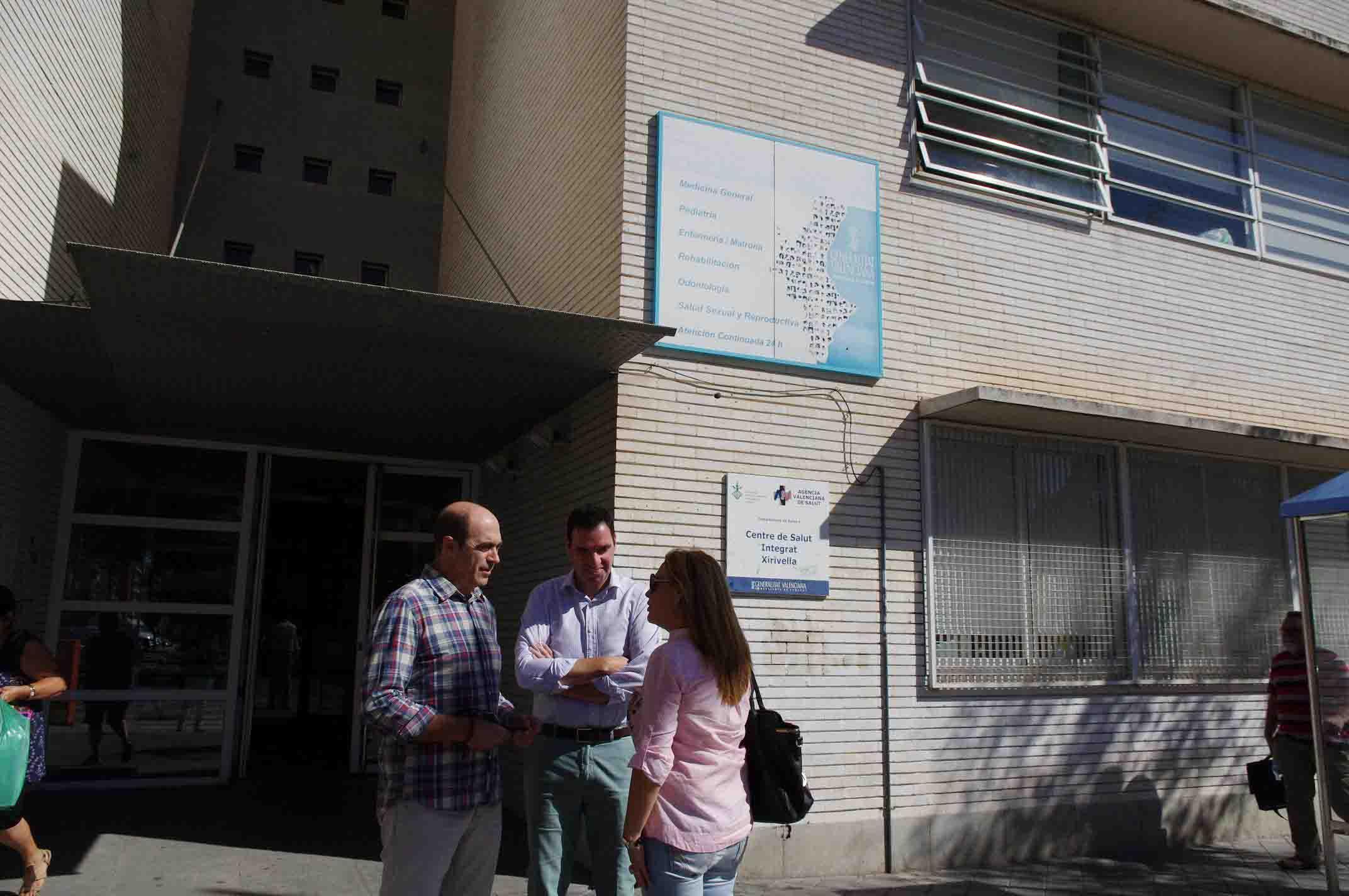 Adjudicadas las obras de ampliación del centro de salud de Xirivella