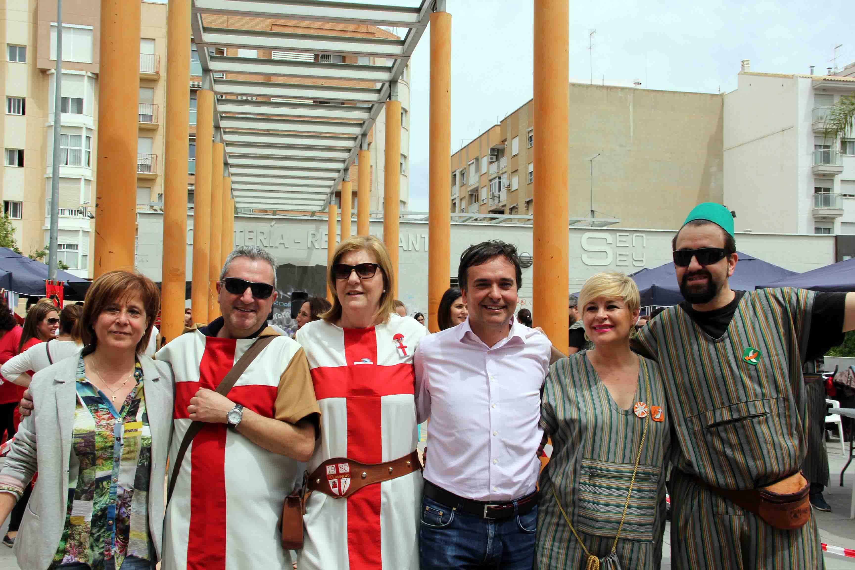Manises ha celebrado este fin de semana el Mig Any de Moros y Cristianos