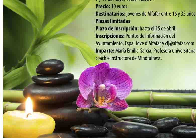 Alfafar pone en marcha dos talleres de Mindfulness