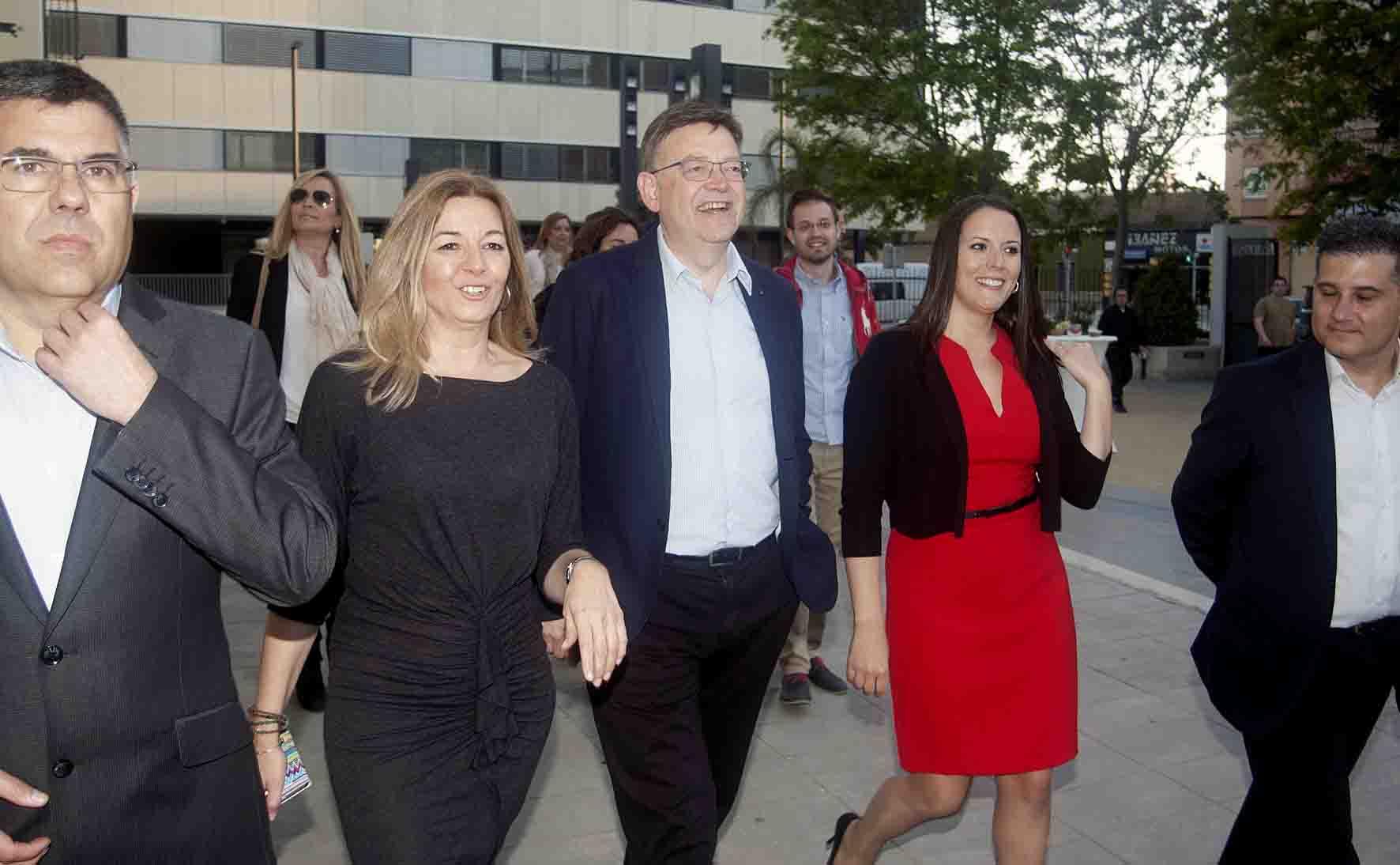 Los Socialistas Valencianos presentan una candidatura por el cambio en Moncada
