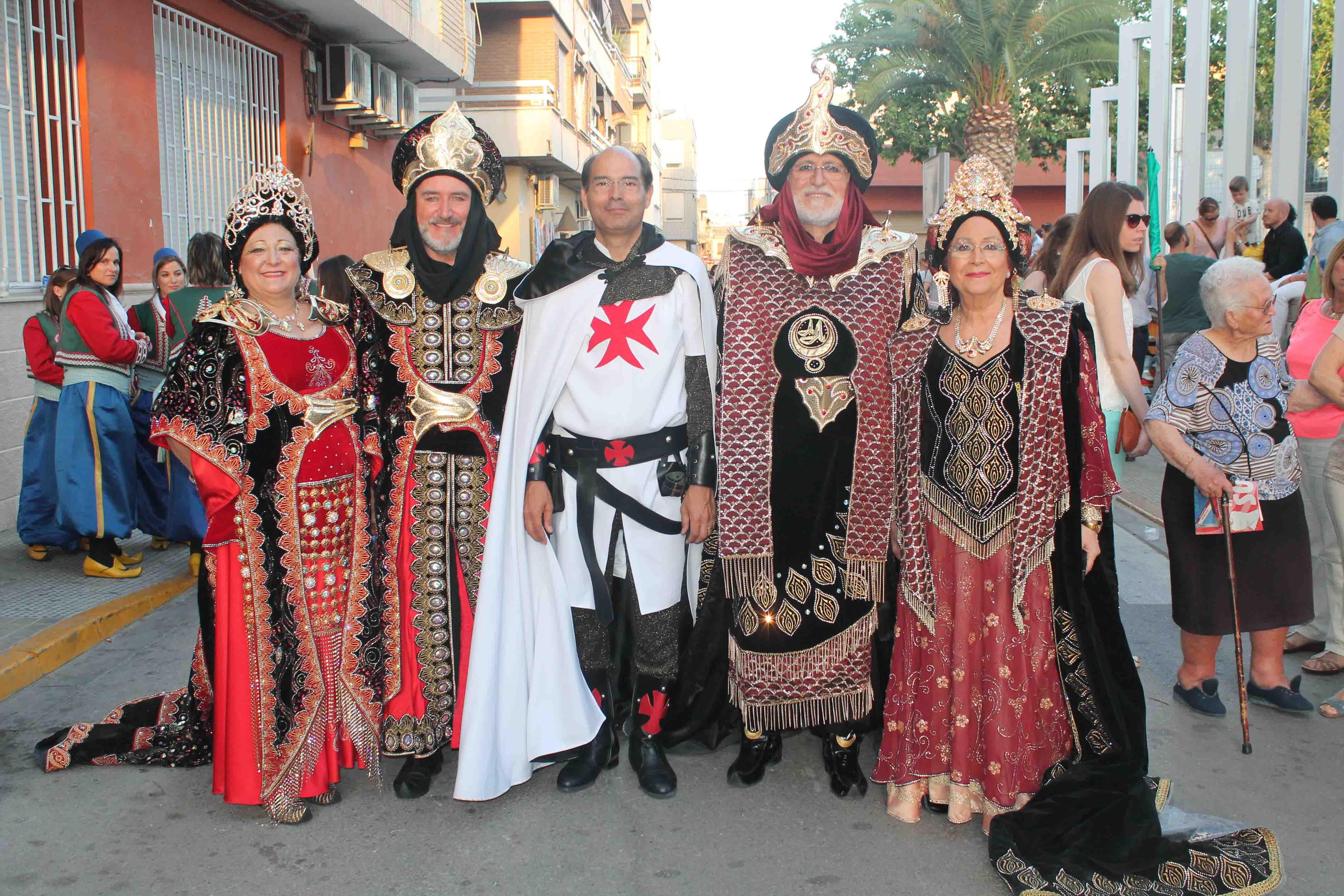Sedaví ha celebrado la fiesta de Moros y Cristianos en honor a Sant Torquat