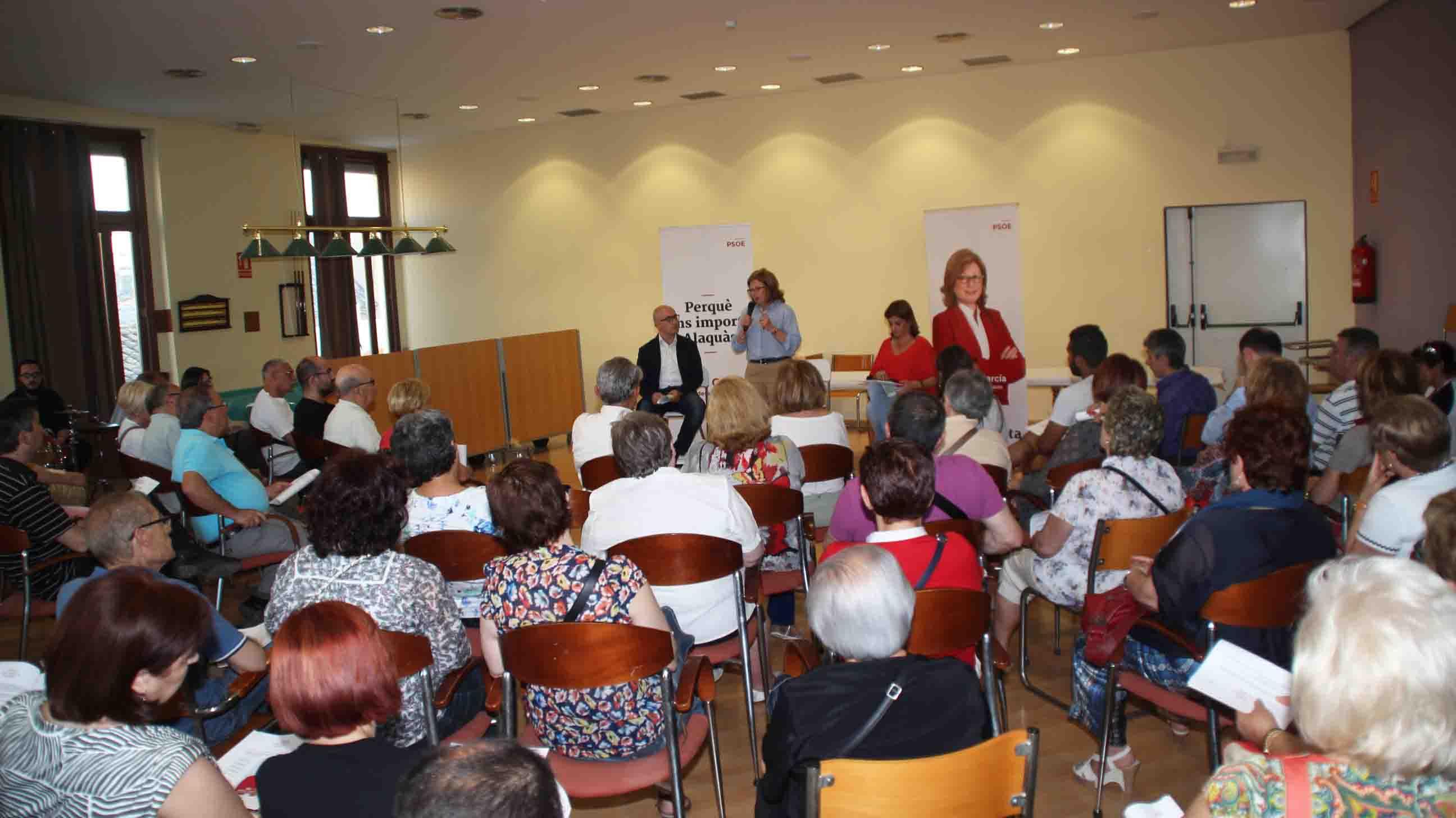 El PSPV de Alaquàs apuesta por la educación, la cultura y el deporte