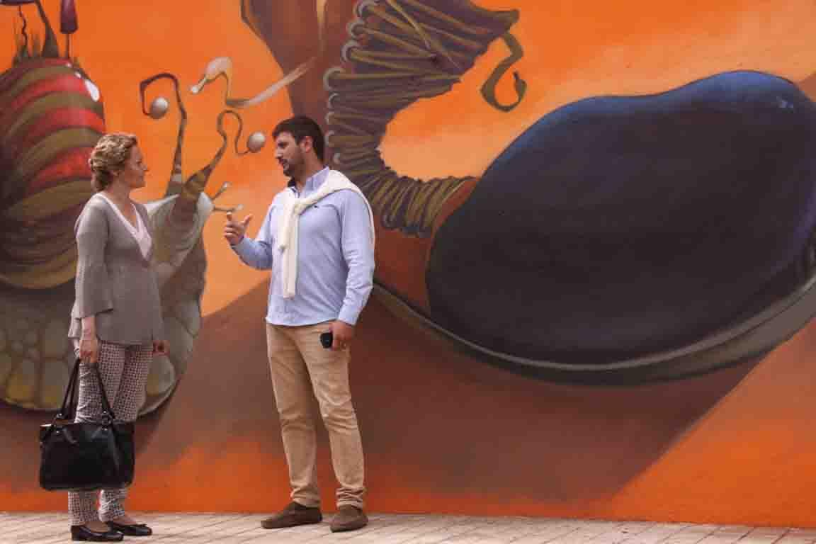 Los ganadores del concusro de Graffitis TorrentJove inundan Torrent con sus pinturas