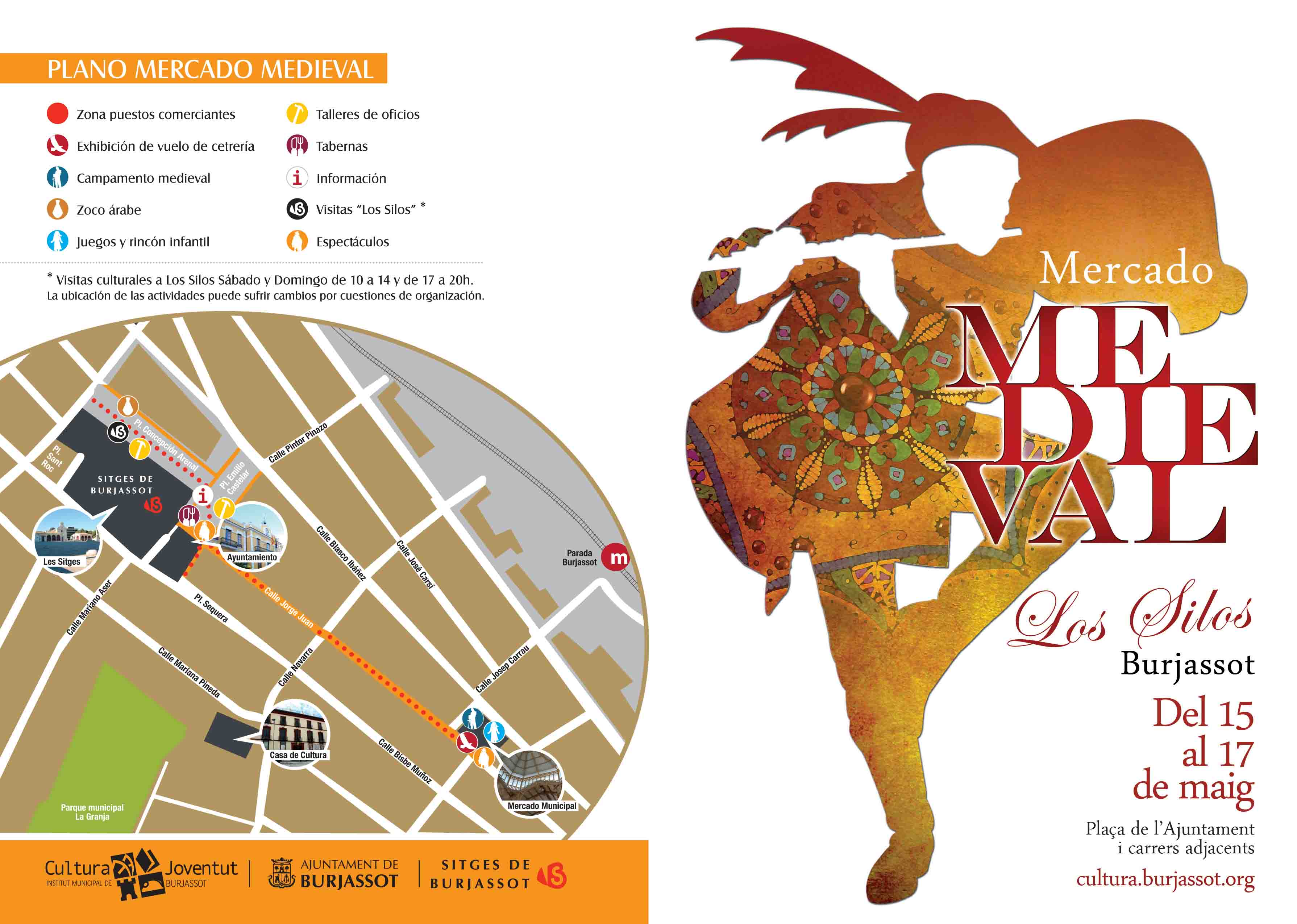 El Mercado Medieval llega este fin de semana a Burjassot