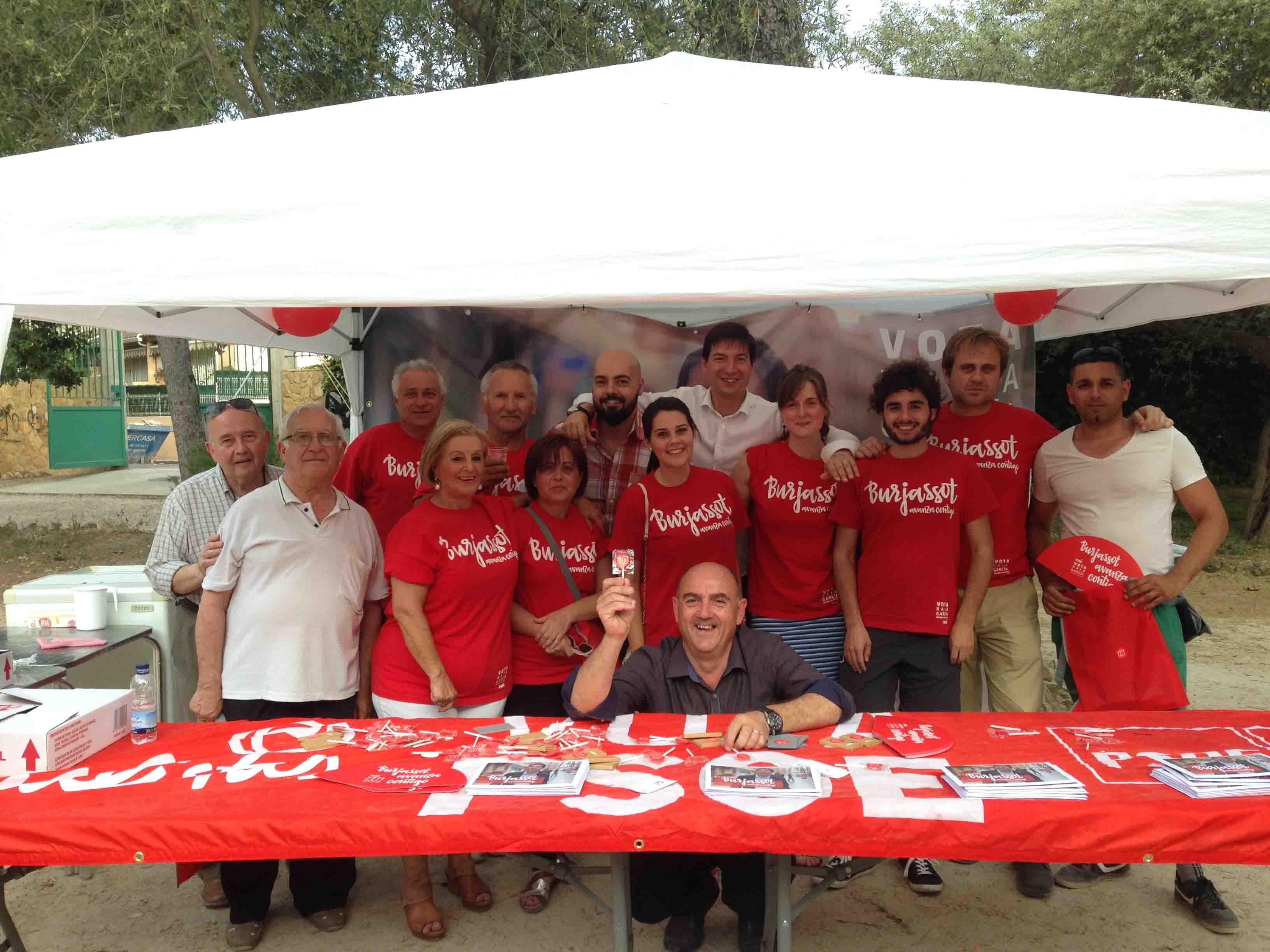 Los Socialistas de Burjassot crearán un «Club del abuelo y el nieto para que disfruten juntos»