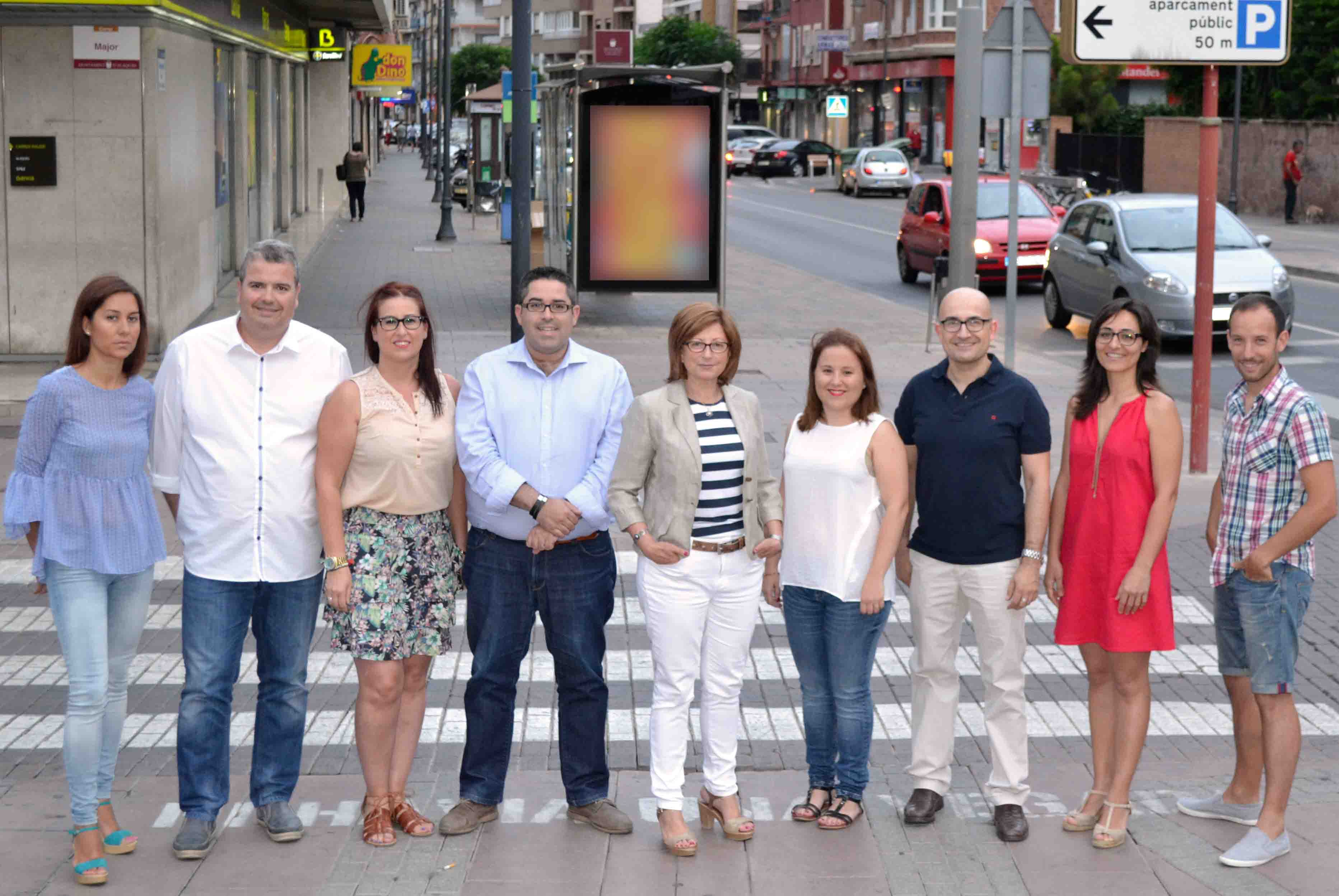 Elvira Garcia dona a conèixer la nova configuració del govern a Alaquàs