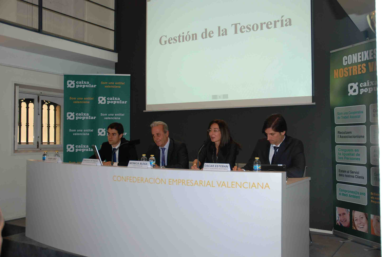 Caixa Popular ofrece una jornada sobre gestión de Tesorería y oportunidades de inversión en los mercados