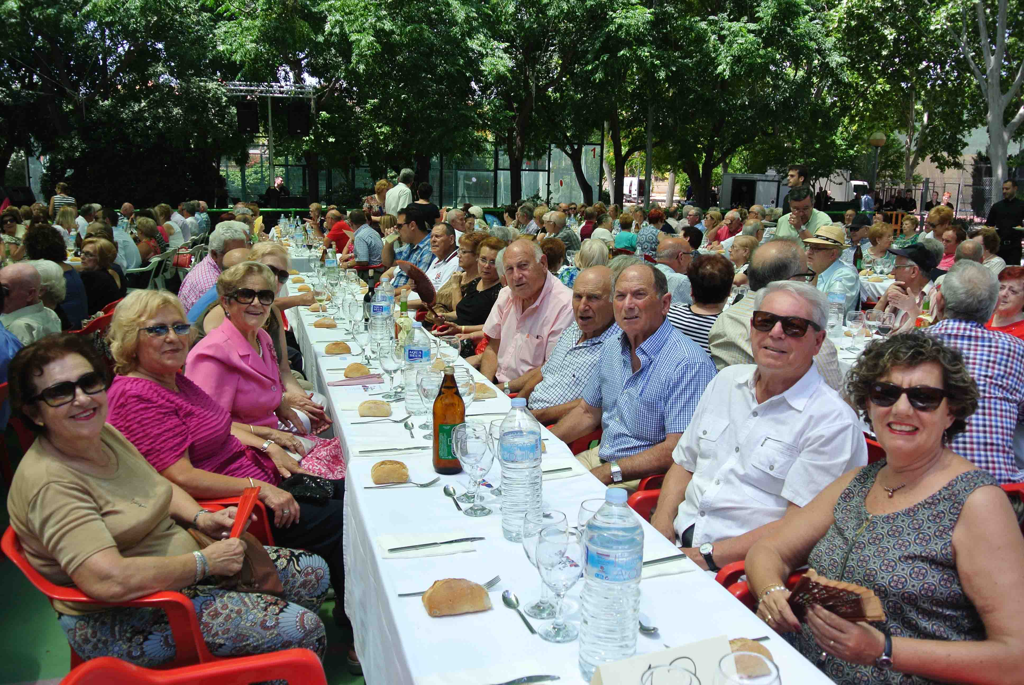 Concluyen con una comida homenaje las Jornadas de los Mayores de Massanassa