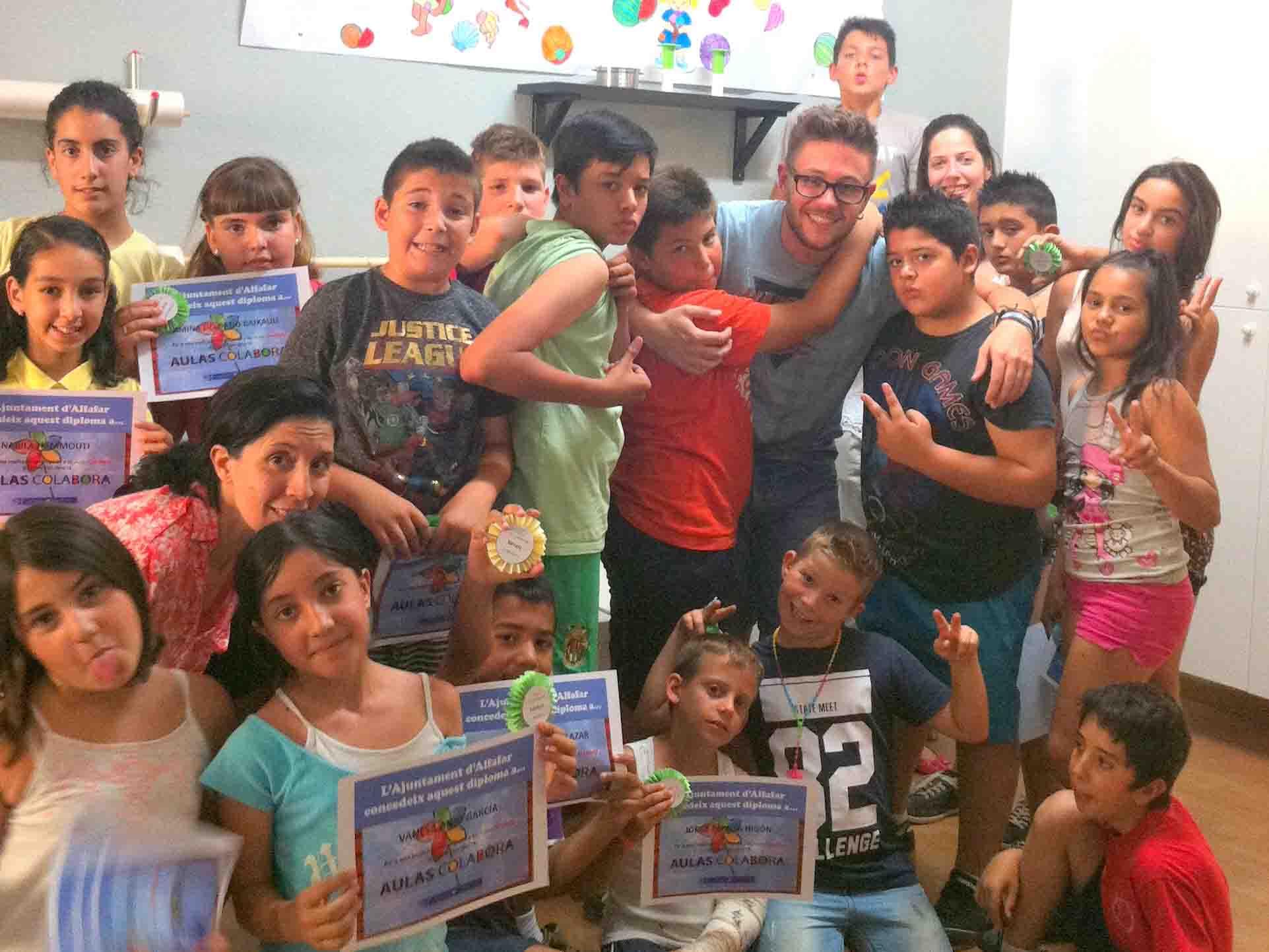 Las aulas colabora de Alfafar cierran sus puertas hasta septiembre