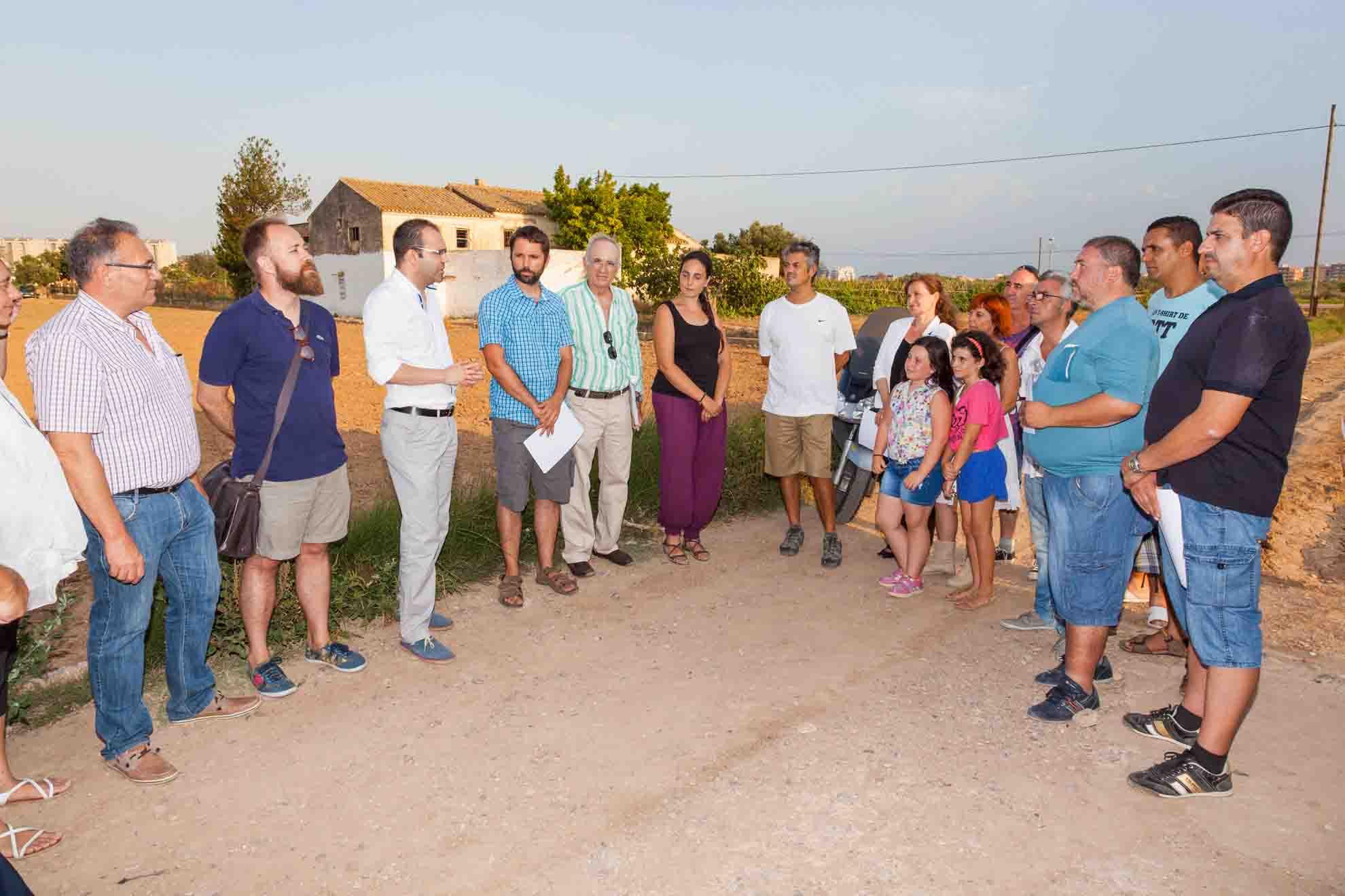 Mislata participa en un proyecto de reinserción laboral basado en la producción agroecológica
