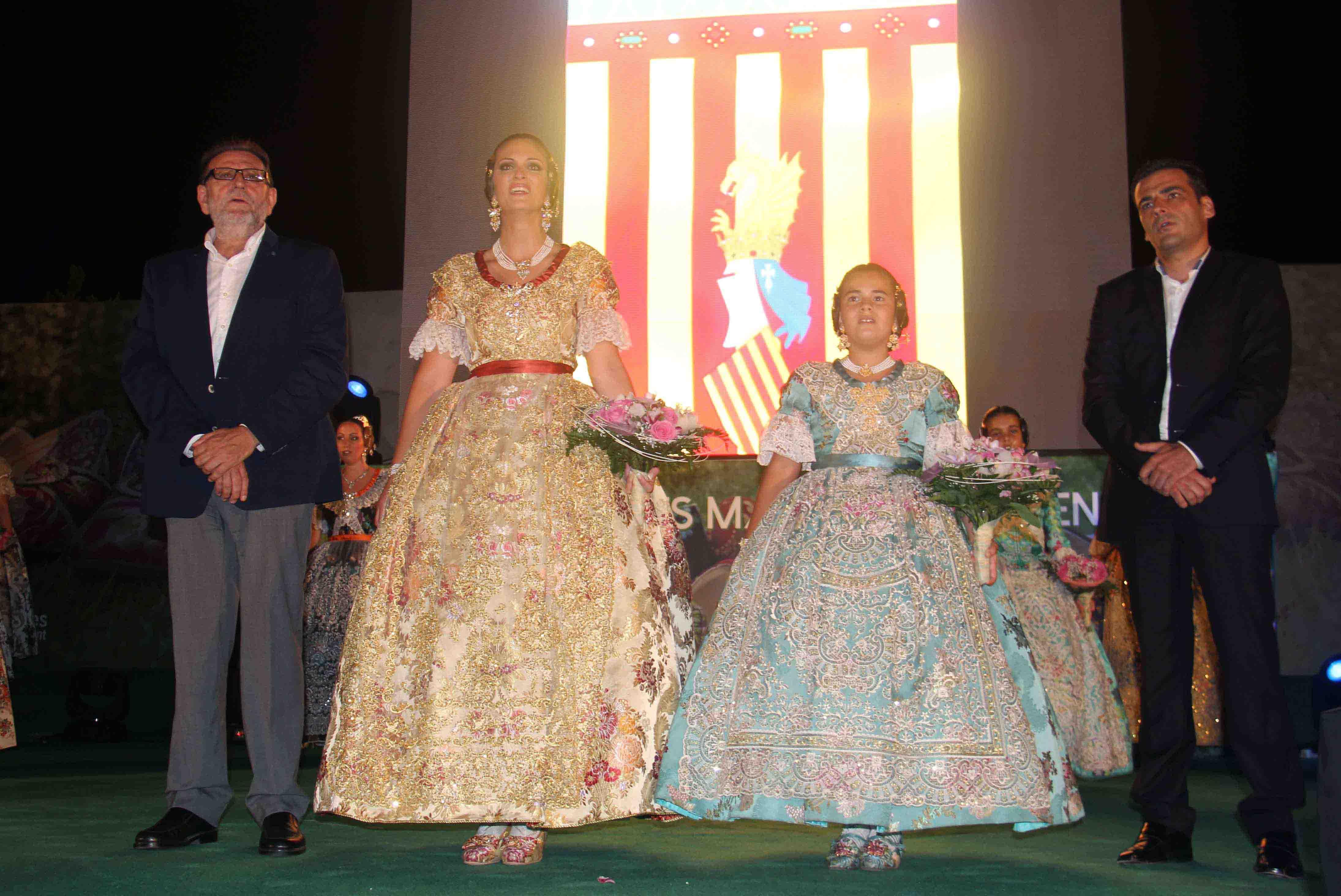 Noelia Peinado y Carla Pallardó, falleras mayores de Torrent para 2016