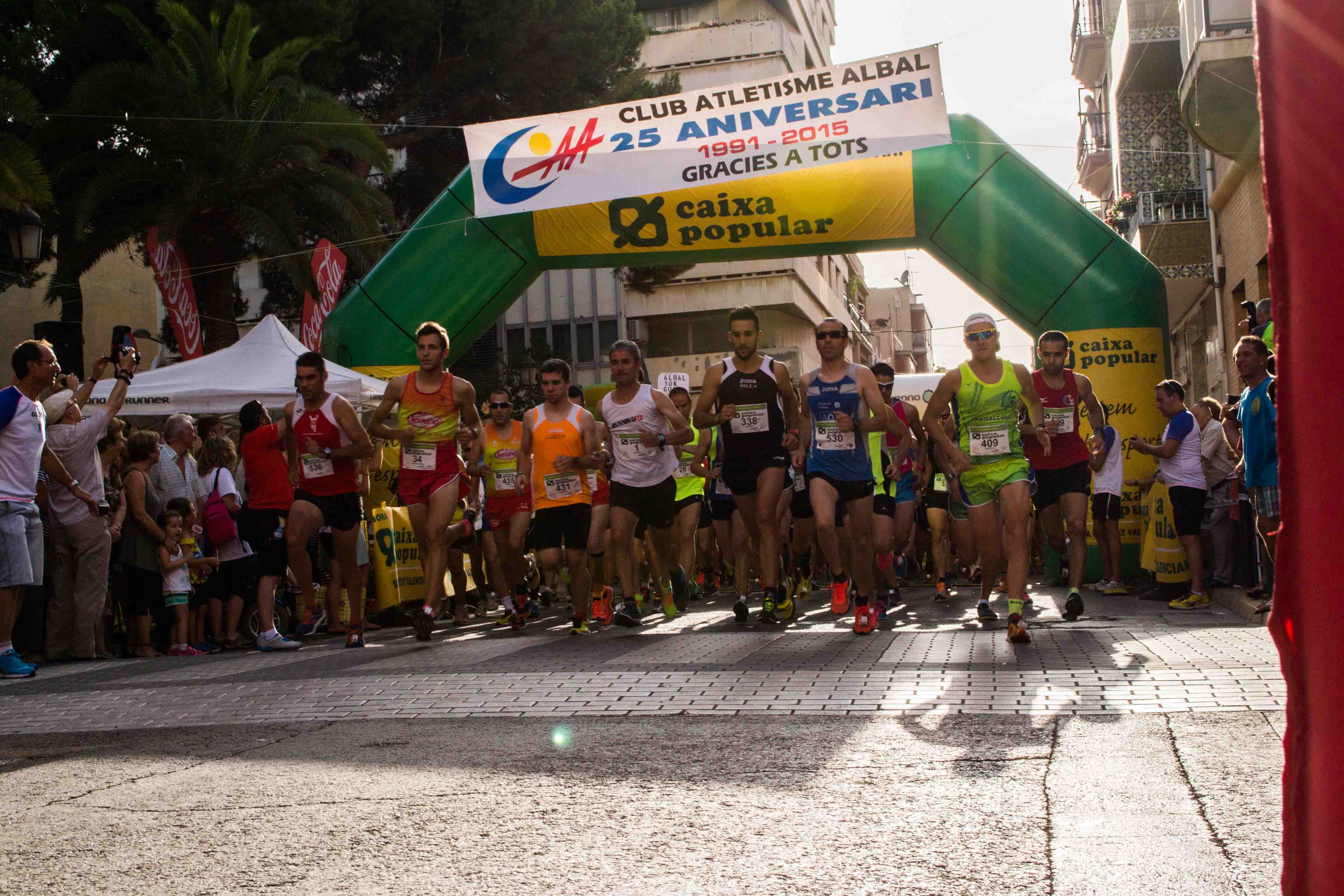 Más de 700 corredores participaron en la Volta a Peu de Albal