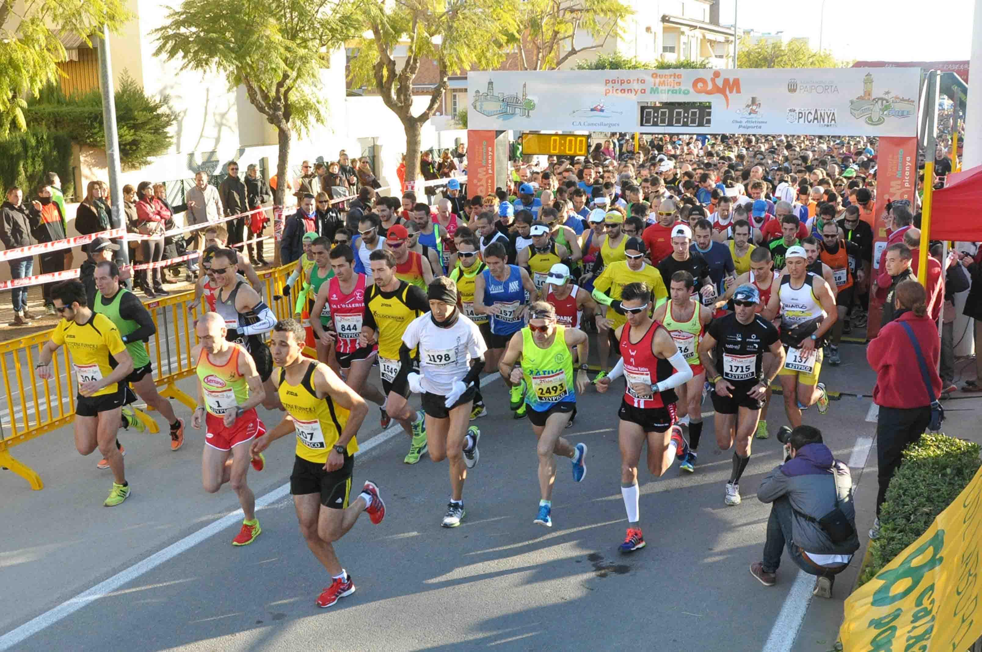 Ya puedes inscribirte para participar en la 'Quarta i Mitja Marató' Paiporta-Picanya