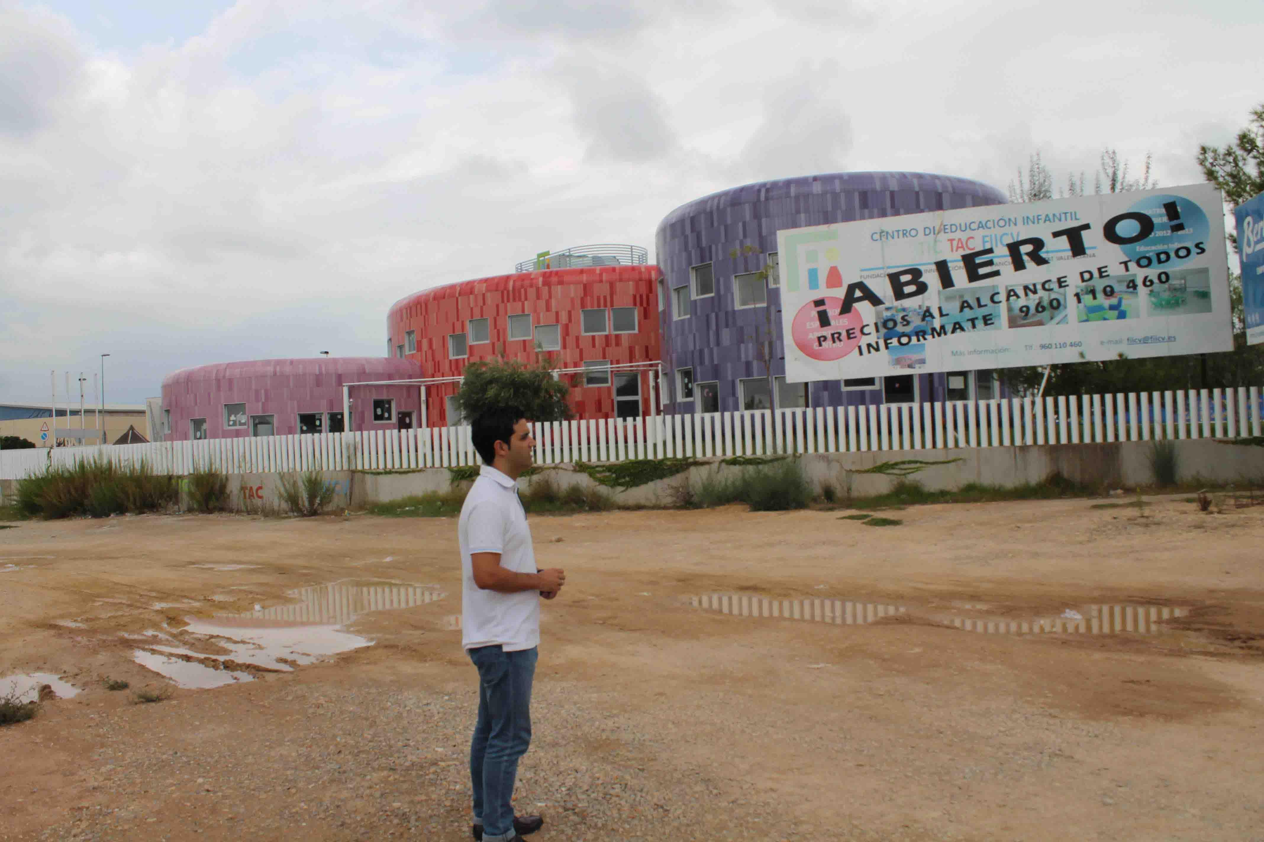 Sagredo propondrá que los 25 concejales de Paterna sean patronos de la Superguardería