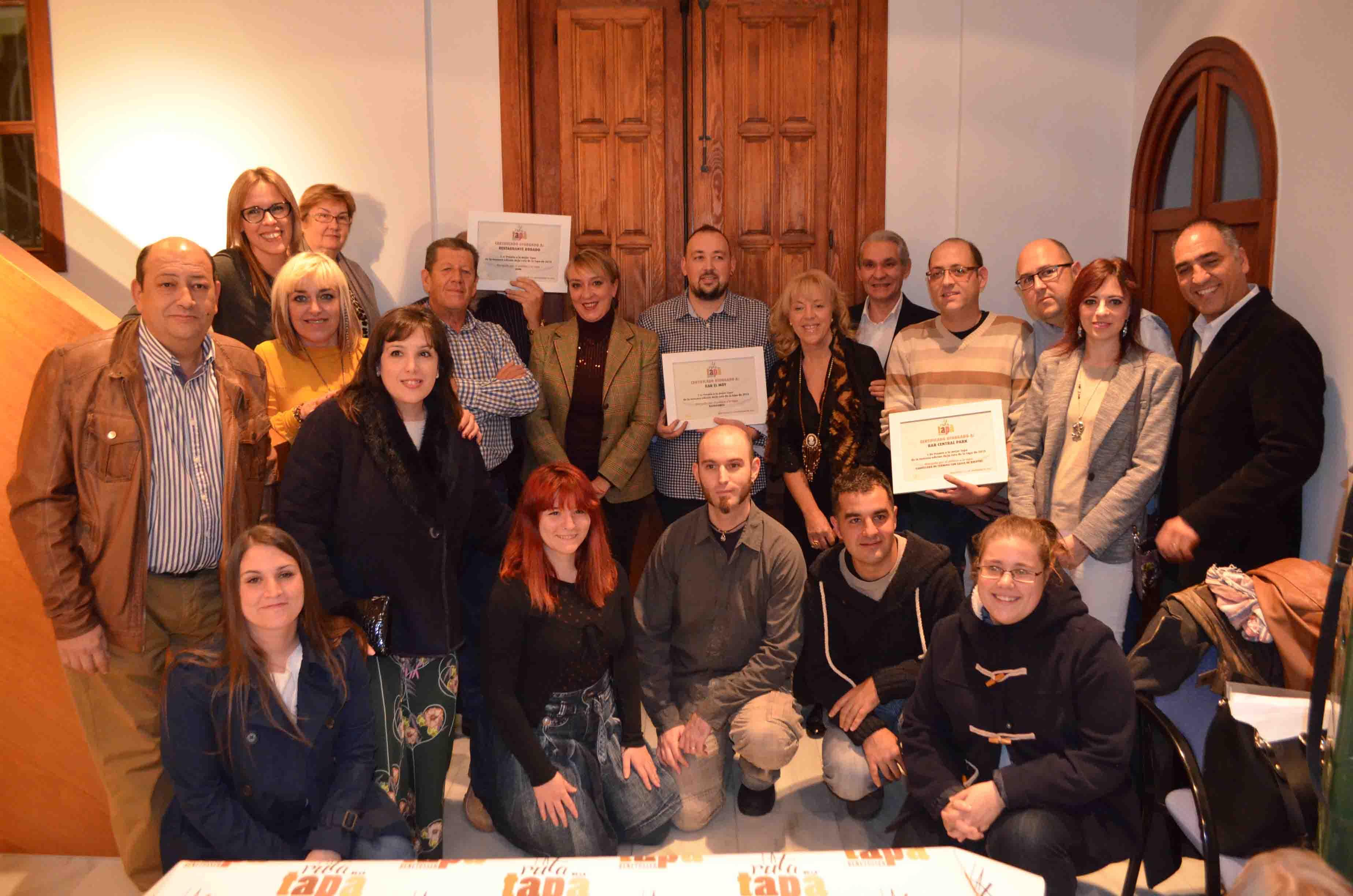 La Ruta de la Tapa de Benetússer sirve más de 32.000 raciones y recauda 600 euros para Cáritas