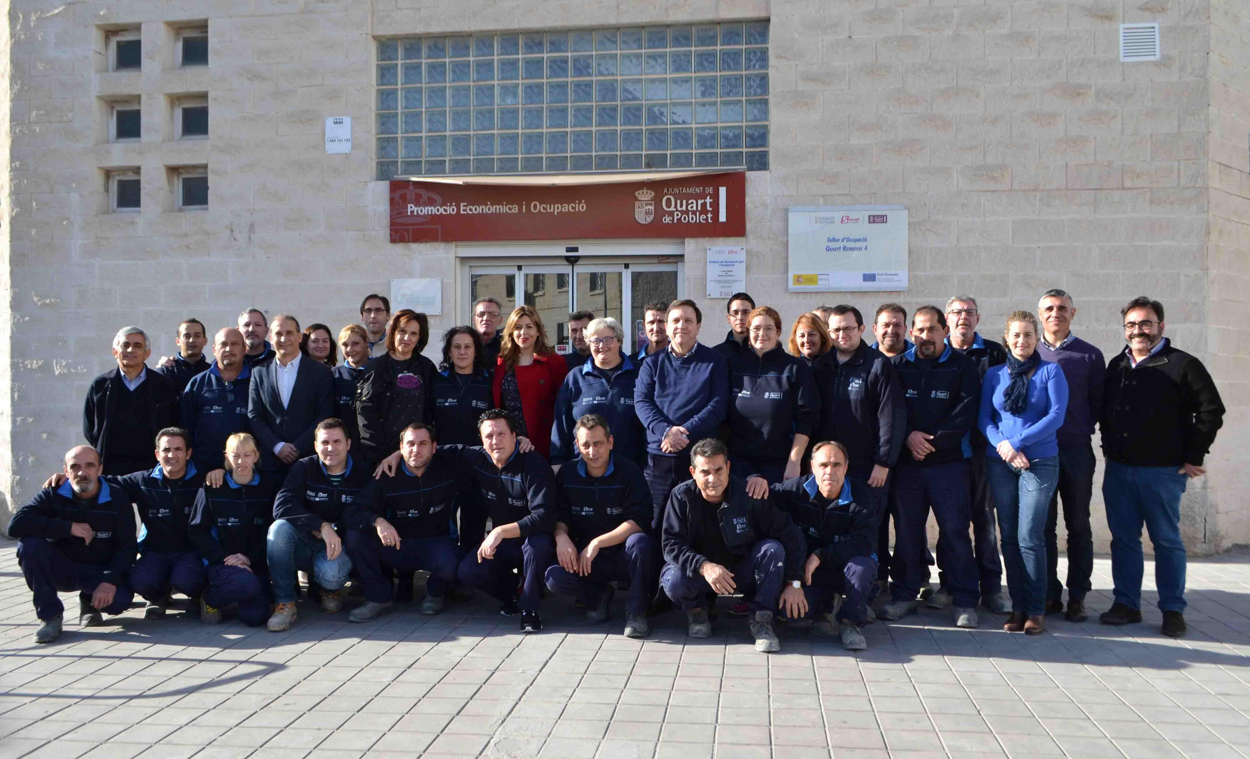 En marcha el taller de empleo Quart Renova que ofrece formación remunerada a 24 desempleados del municipio