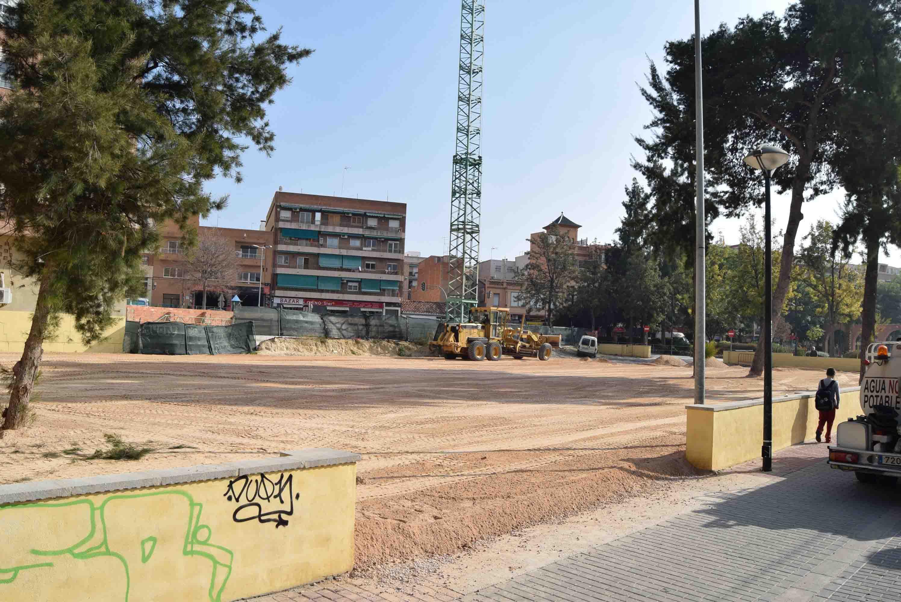 Burjassot tendrá un nuevo aparcamiento para 68 plazas en la Avenida Ausiàs March