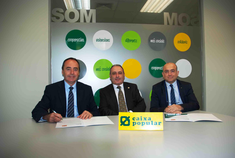 Caixa Popular patrocinarà el projecte d'Estímul del Talent Matemàtic a la Comunitat Valenciana