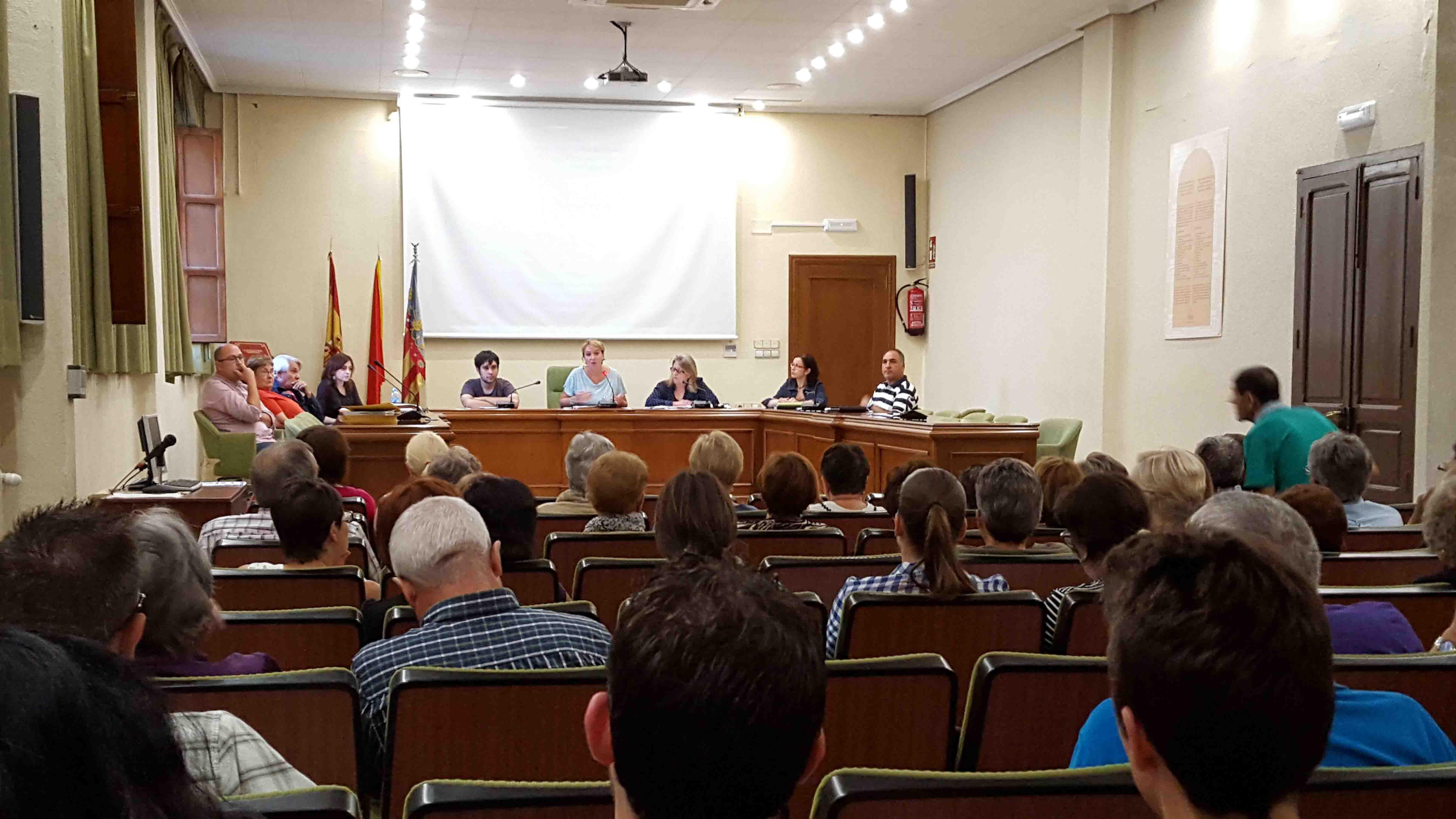 Benetússer presenta a sus vecinos el presupuesto municipal para el 2016