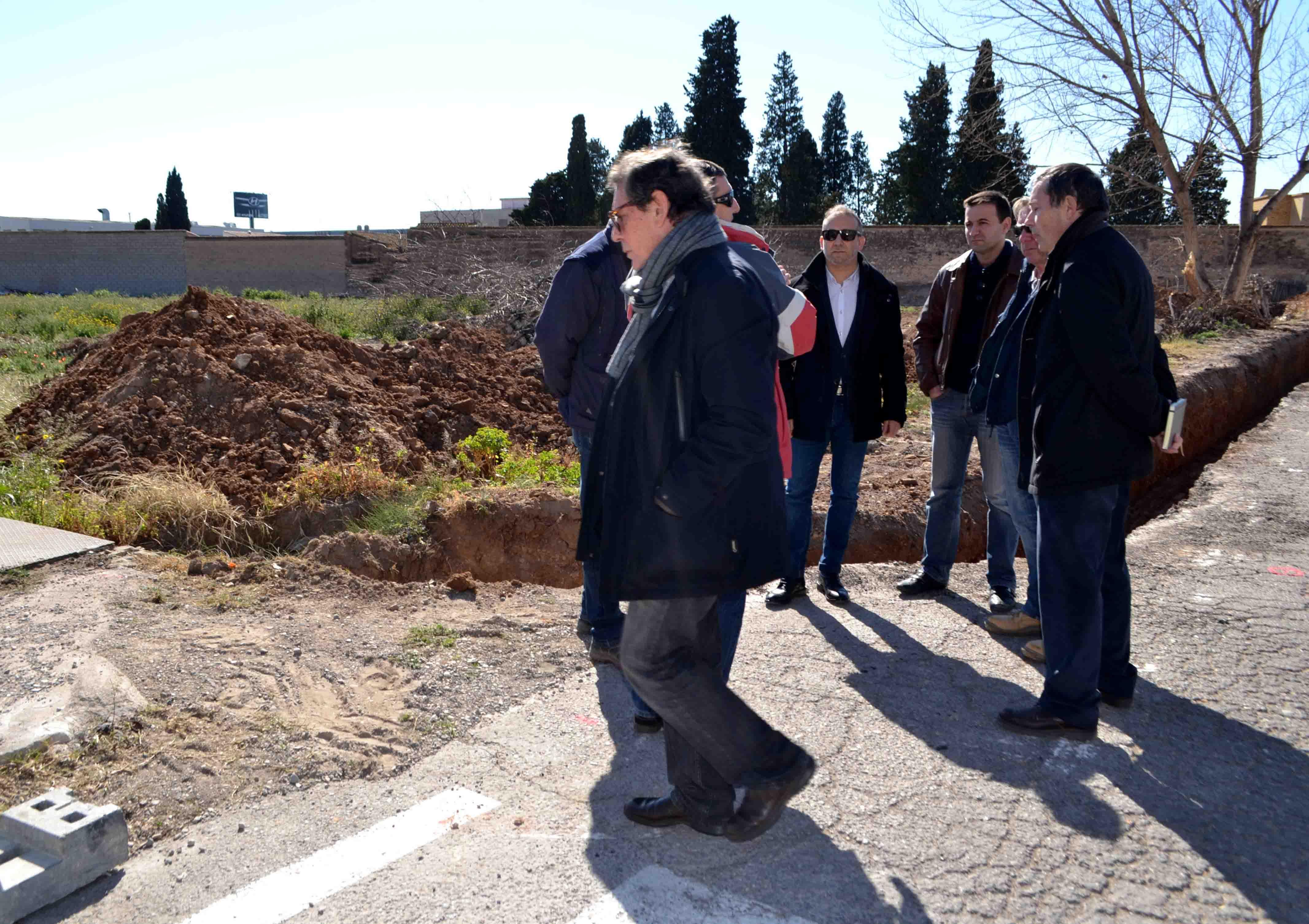 Quart de Poblet inica les obres del nou parc recreatiu-esportiu de Molí d'Animeta