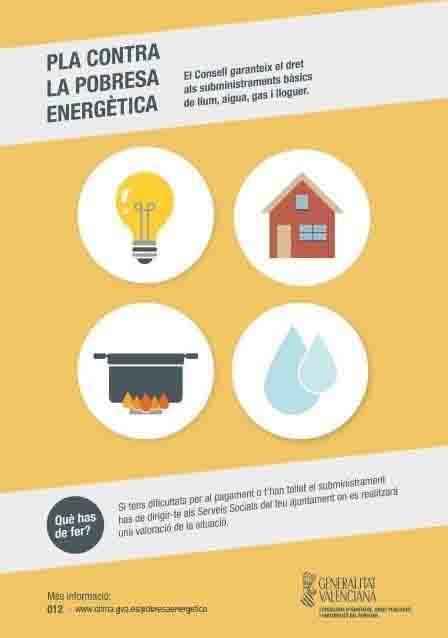 Massamagrell se suma al Plan contra la Pobreza Energética del Consell