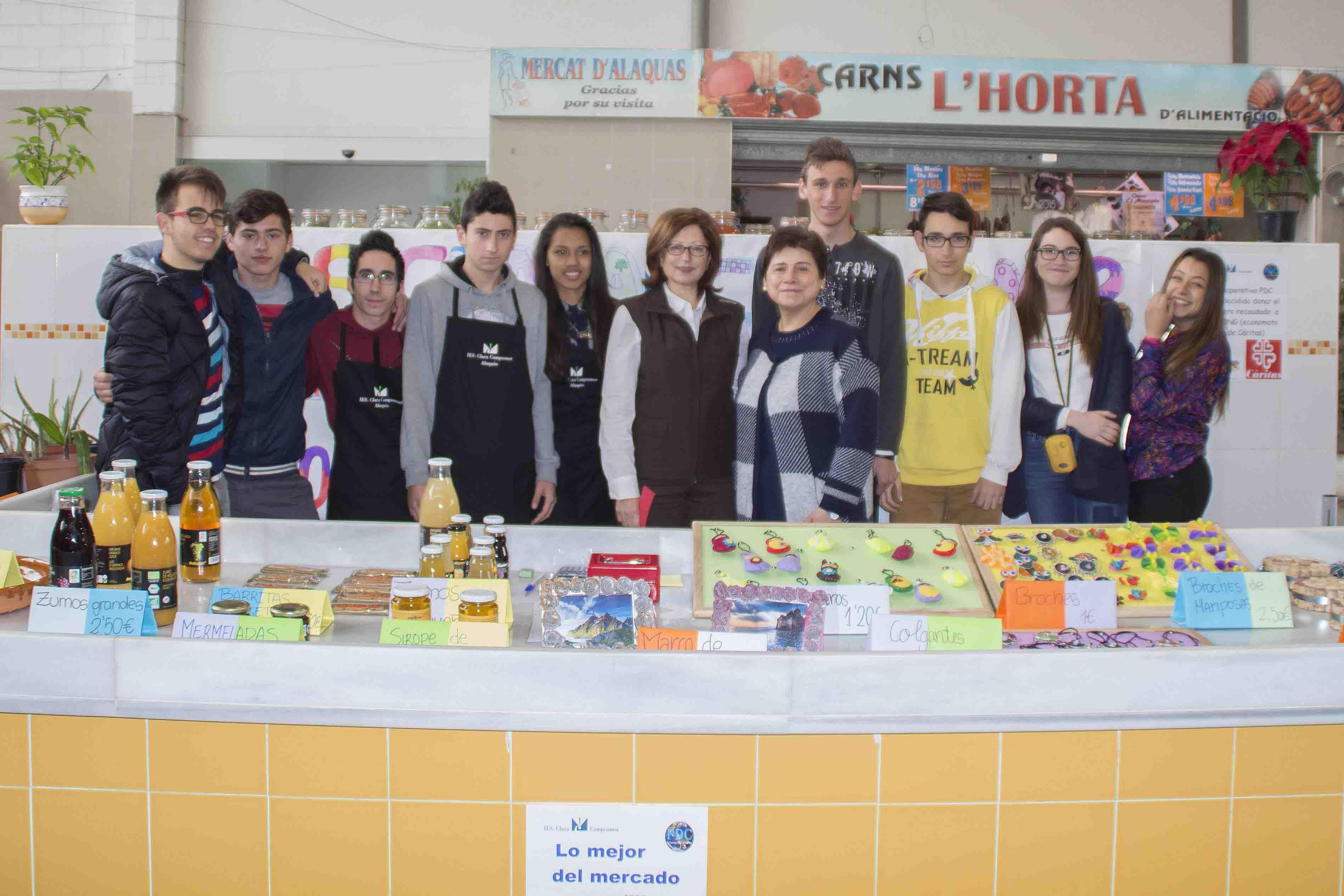 Els productes del projecte 'Persones de Confiança' ja es venen al Mercat Municipal d'Alaquàs