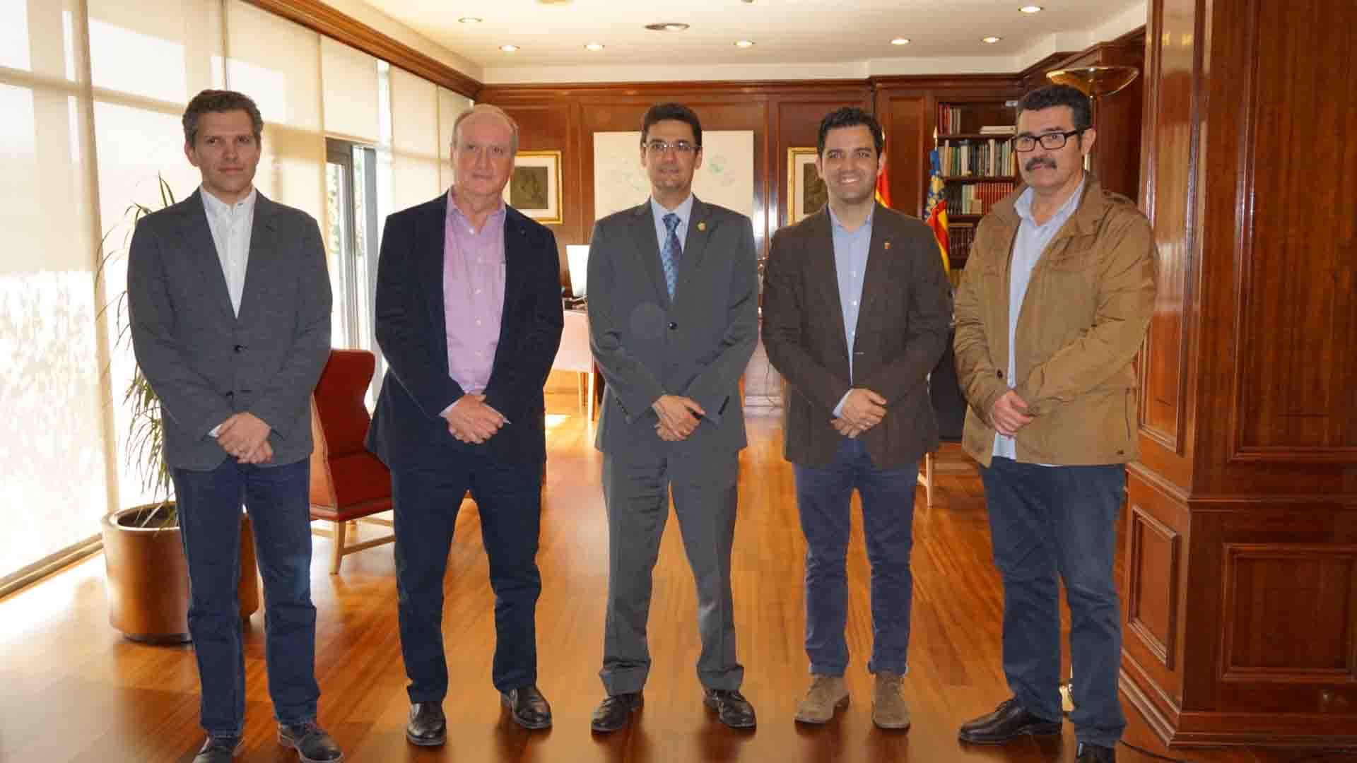 Paterna y la UPV firman un acuerdo para emprender proyectos conjuntos