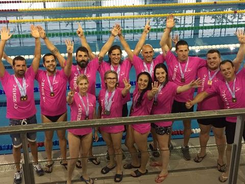 El Club Natació Sedaví-C  vint-i-una medalles autonòmiques
