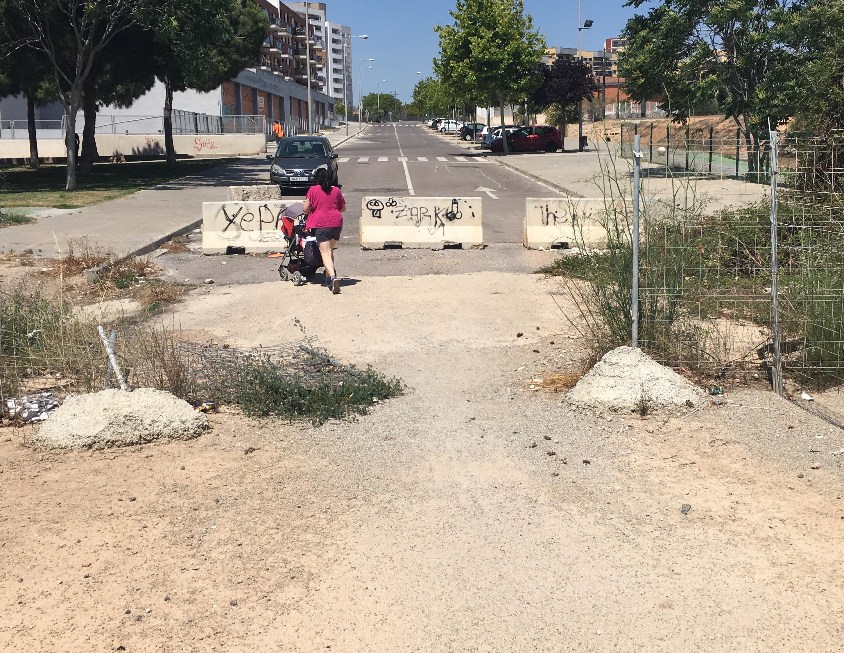 El PP de Paterna reclama la apertura del Puente del Más del Rosari