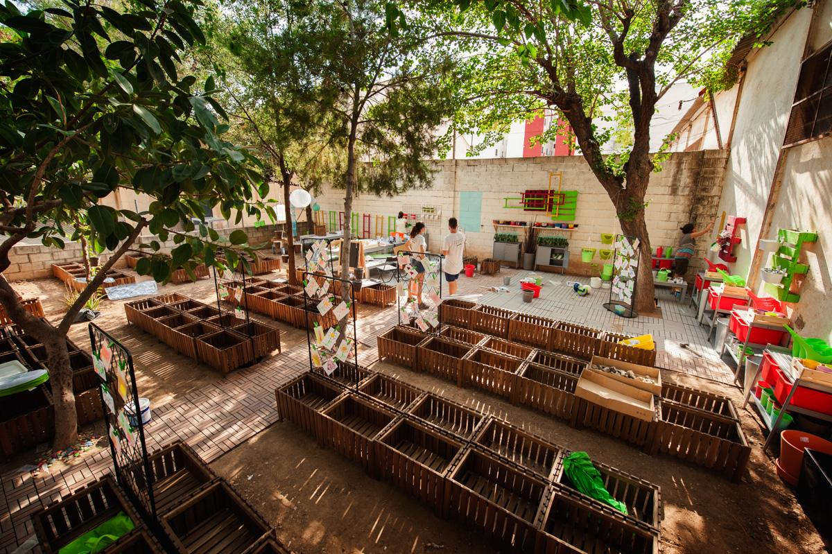 IKEA Valencia Alfafar presenta un proyecto de diseño de huertos urbanos en colegios de la provincia