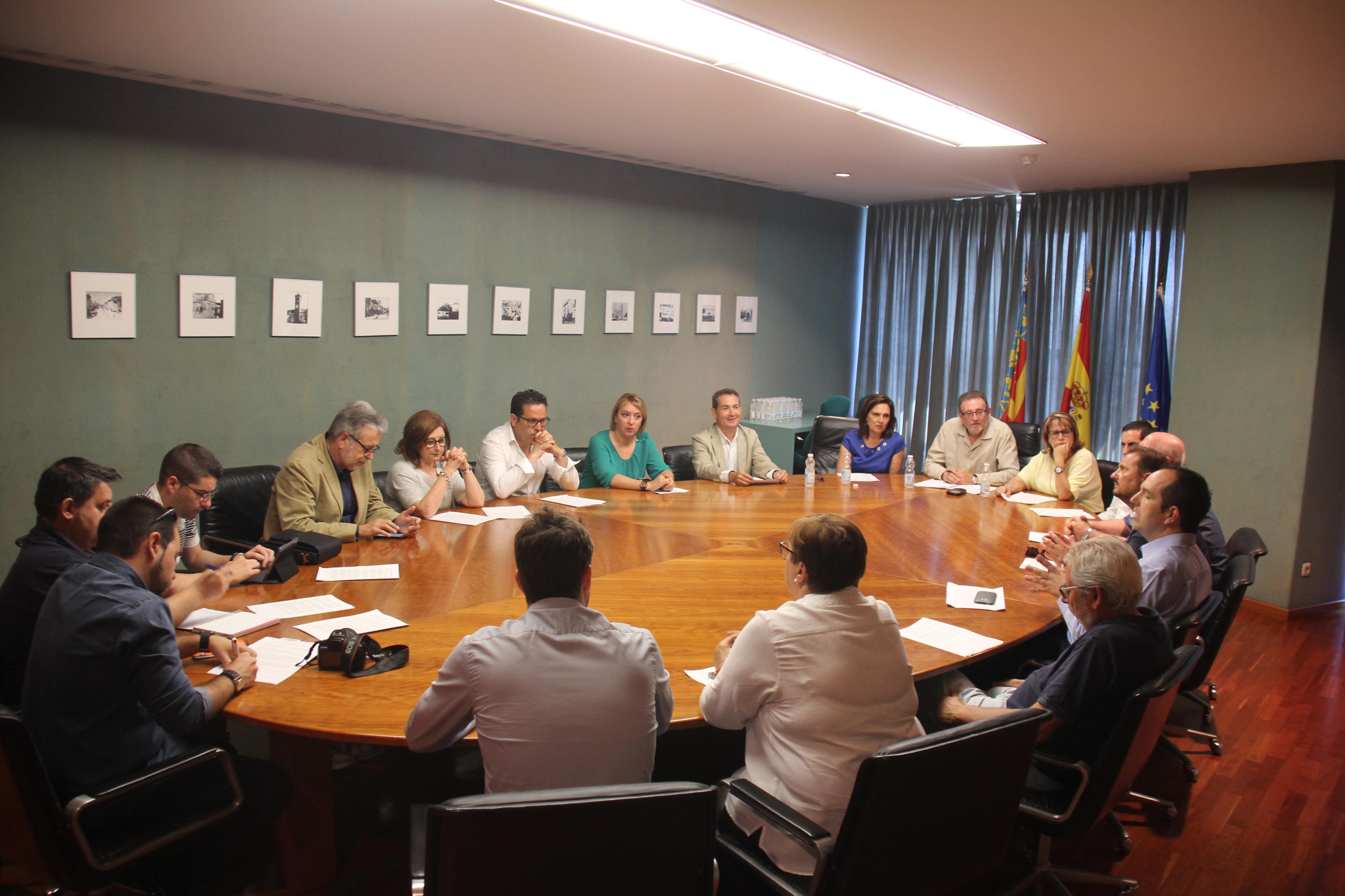 Balance de un año de gestión de los alcaldes del PSPV en l'Horta Sud