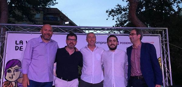 A la Valenciana ompli la plaça de Burjassot amb Joan Baldoví, Rosana Pastor i Ricardo Sixto