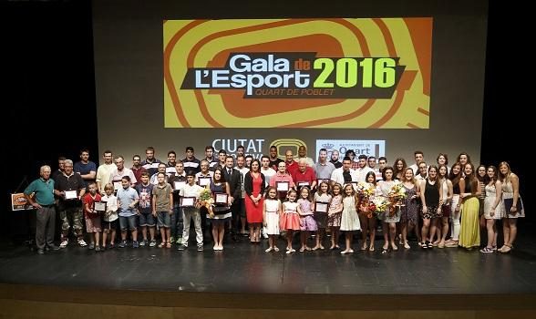 Quart de Poblet homenajea a sus mejores deportistas 2016