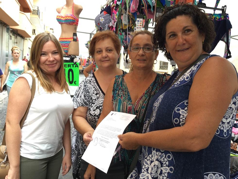 El mercado ambulante de Paterna cambia de ubicación por la remodelación de la Plaza del Pueblo