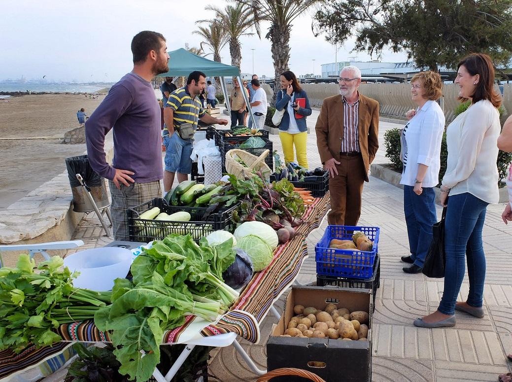 Mercado ecológico de Alboraya:de la tierra a la mesa