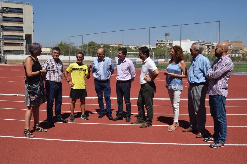 Burjassot tiene nueva pista de atletismo