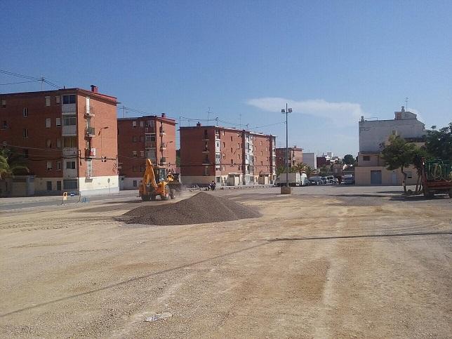 Cambio temporal de ubicación del mercado ambulante de Paterna