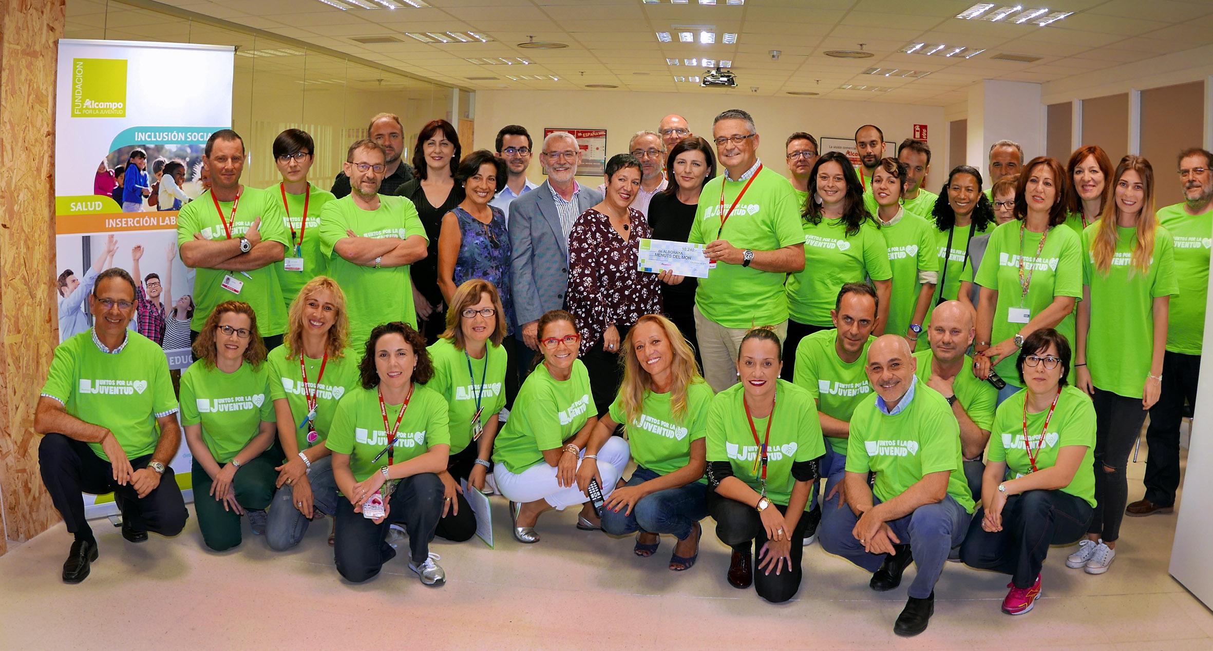 Menuts del Món d'Alboraia rep un premi en la seua lluita per la igualtat