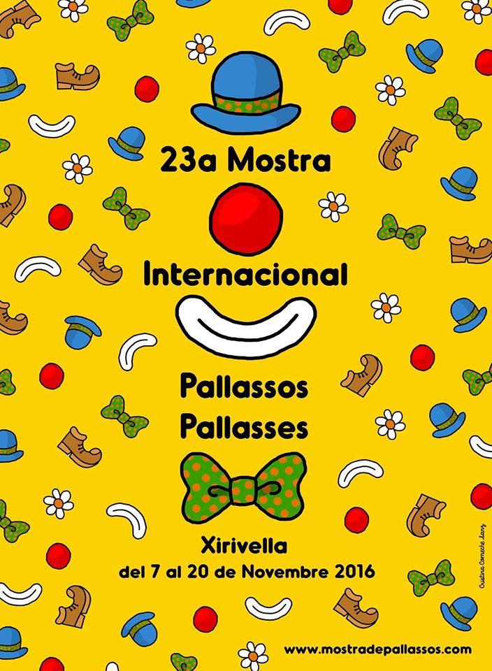 La Mostra Internacional de Pallassos de Xirivella vuelve con una extensa programación