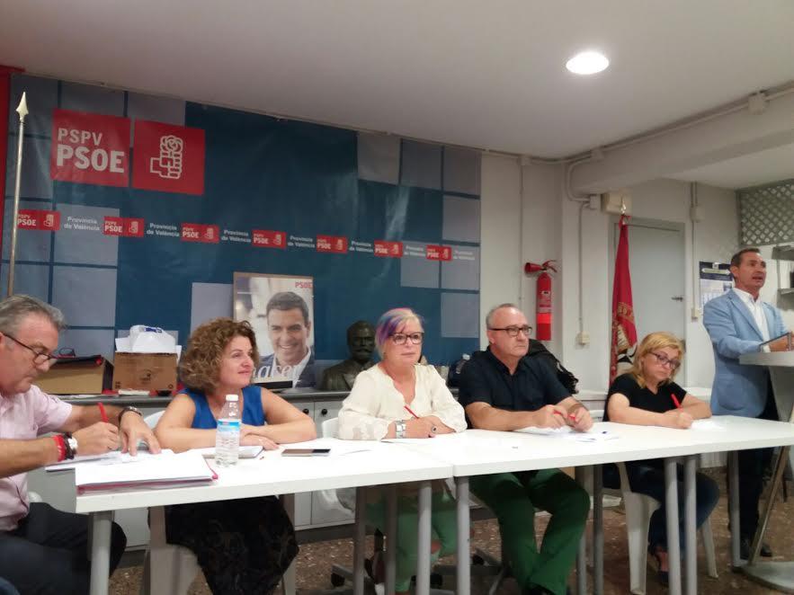 Los socialistas de Xirivella exigen que se les dé la palabra a los militantes