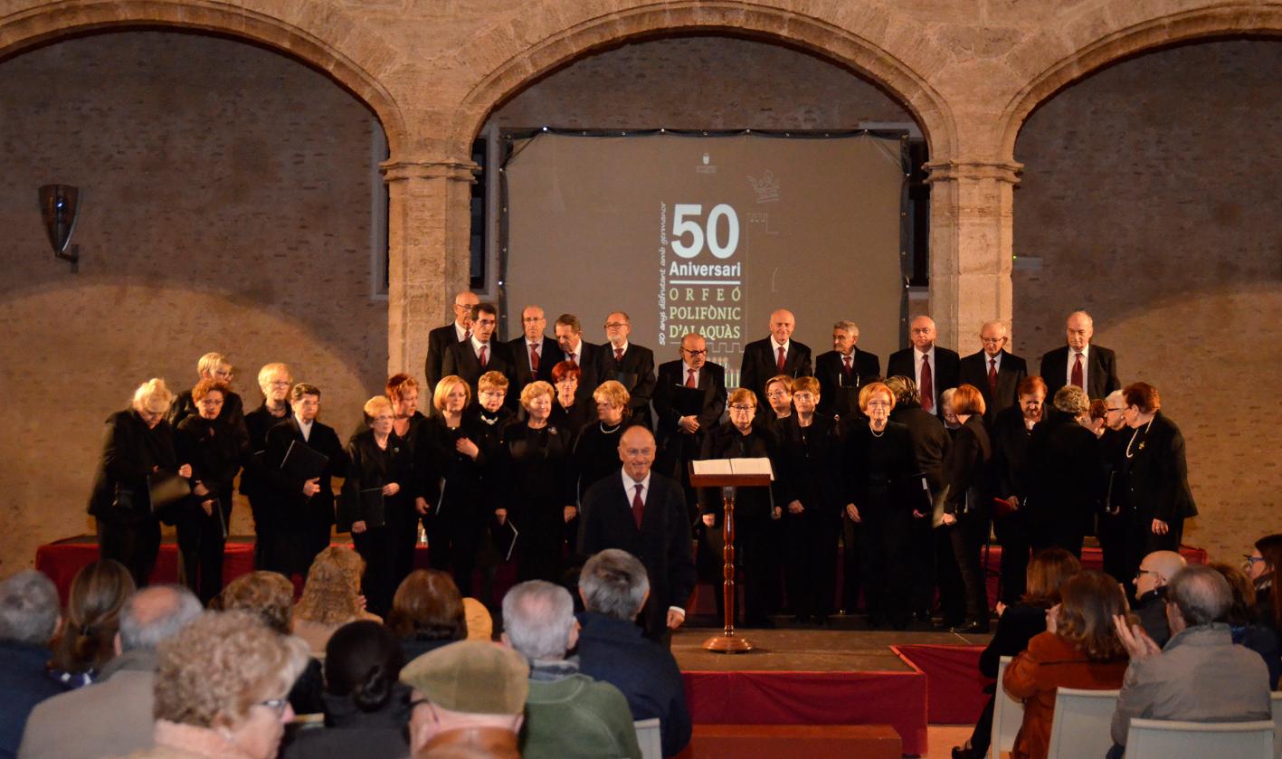 L'Orfeó Polifònic d'Alaquàs celebra el seu 50 aniversari